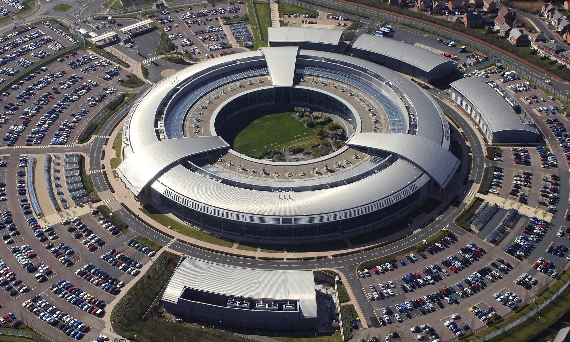 The UK's GCHQ, home to much of the country's surveillance operations.