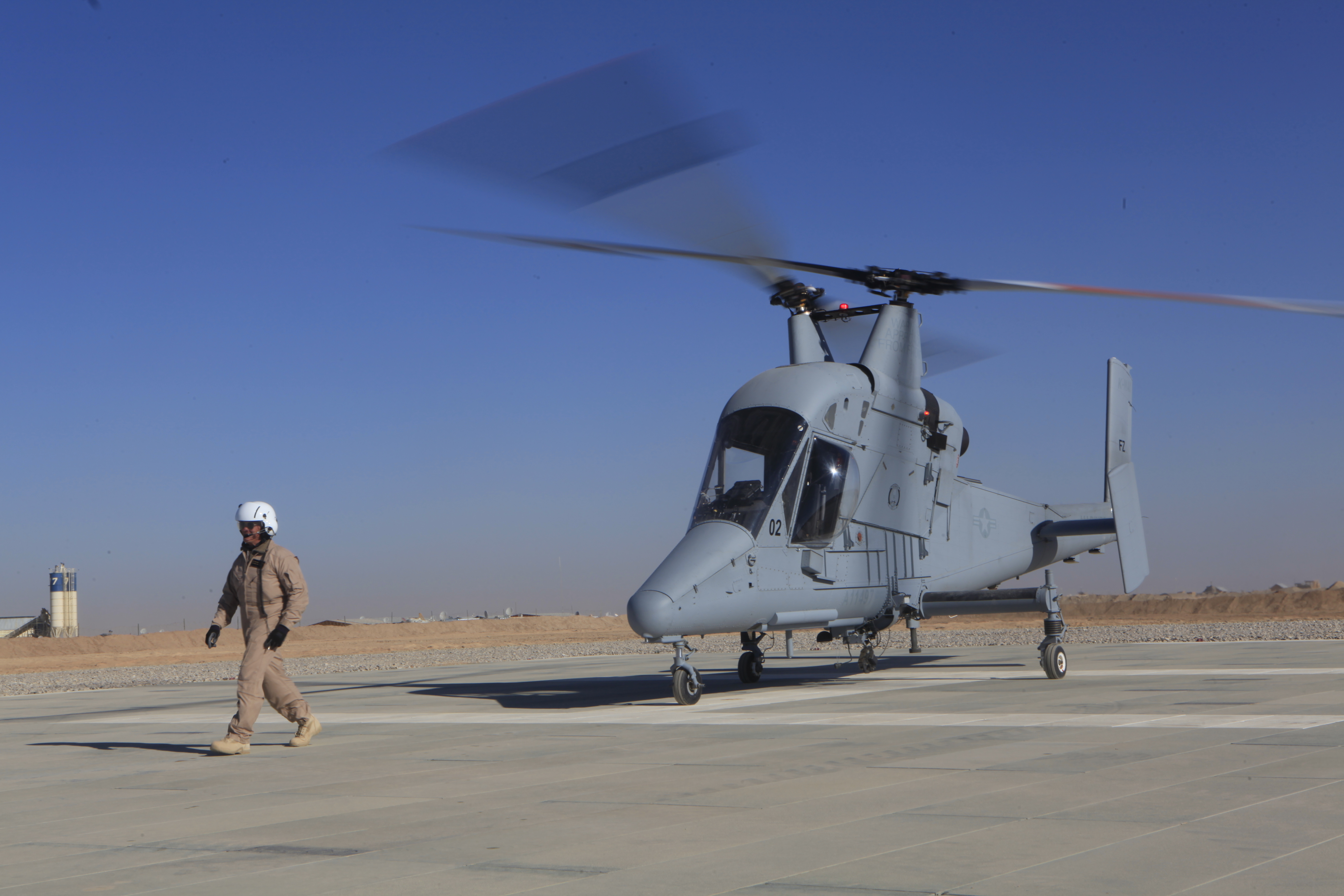 Unmanned helicopter makes first delivery for Marines in Afghanistan