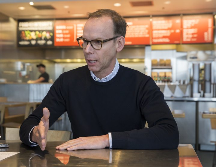 Chipotle Mexican Grill founder and CEO Steve Ells.