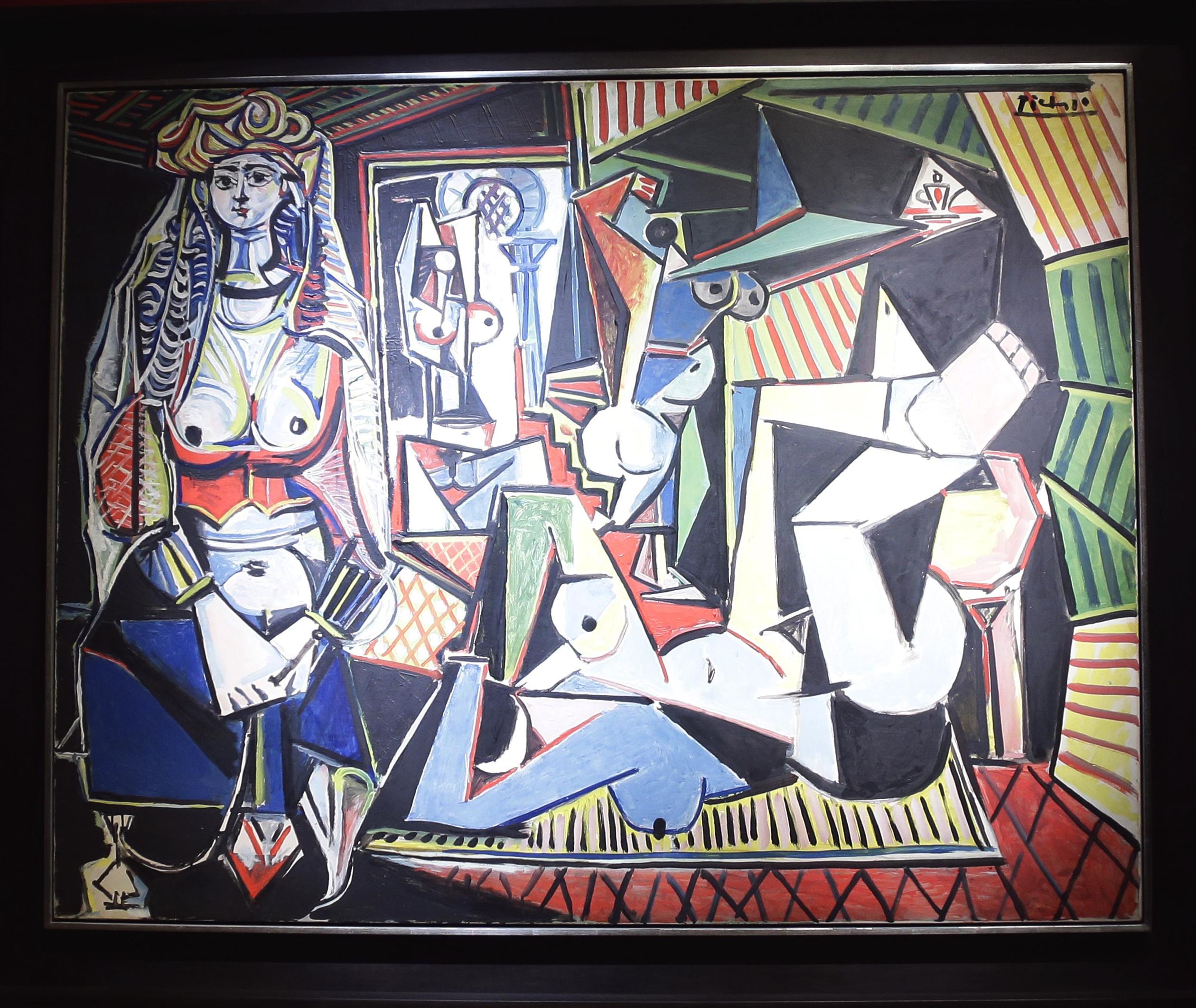 Pablo Picasso's painting 'Les femmes d'Alger