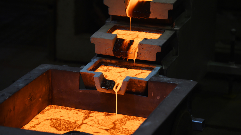 Molten gold is poured into molds at the Norton Gold Fields near Kalgoorlie, Australia. The site is controlled by China's Zijin Mining Group, the world's biggest gold producer by market value.