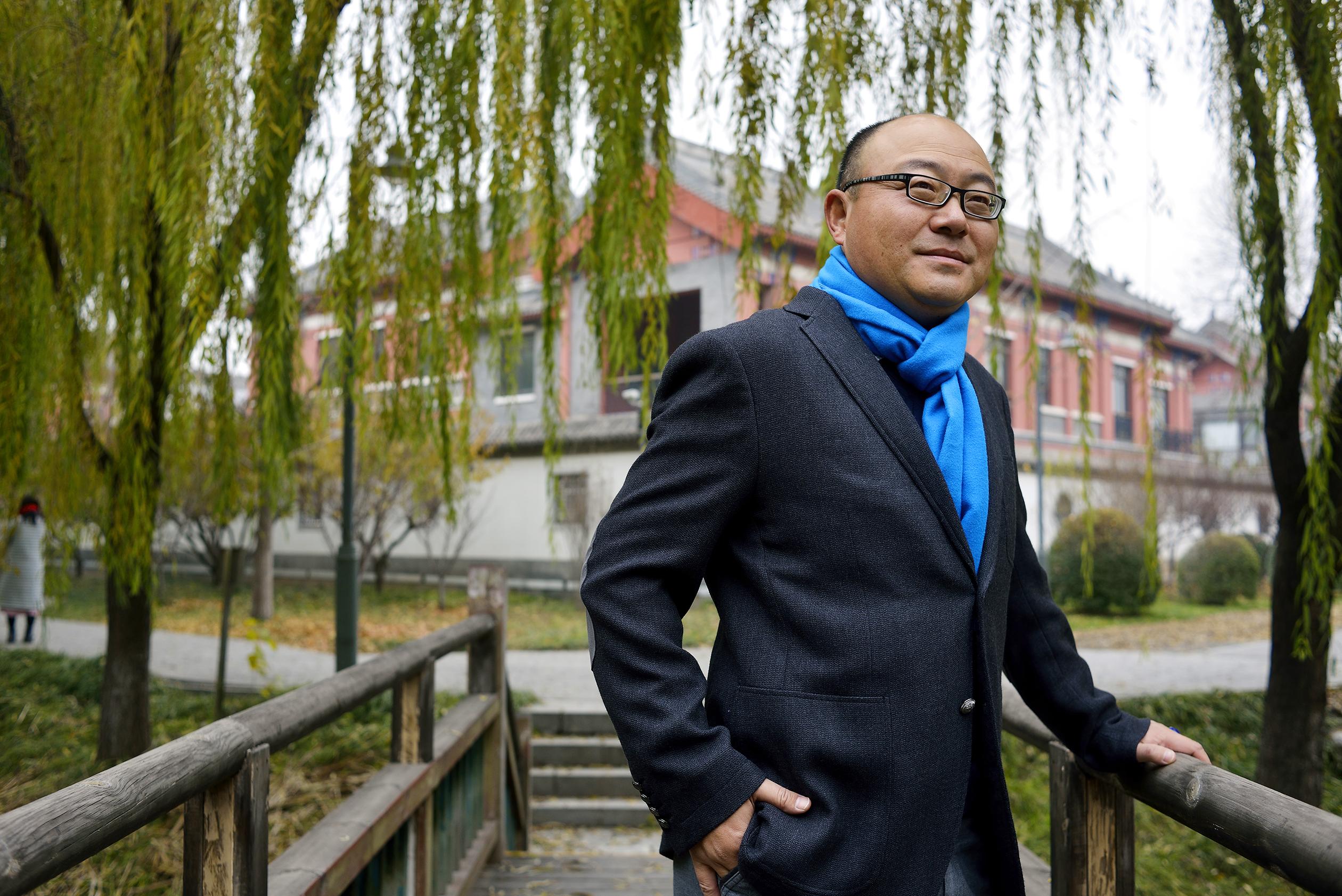 Don Ye, founder of Tsing Capital. November 2015