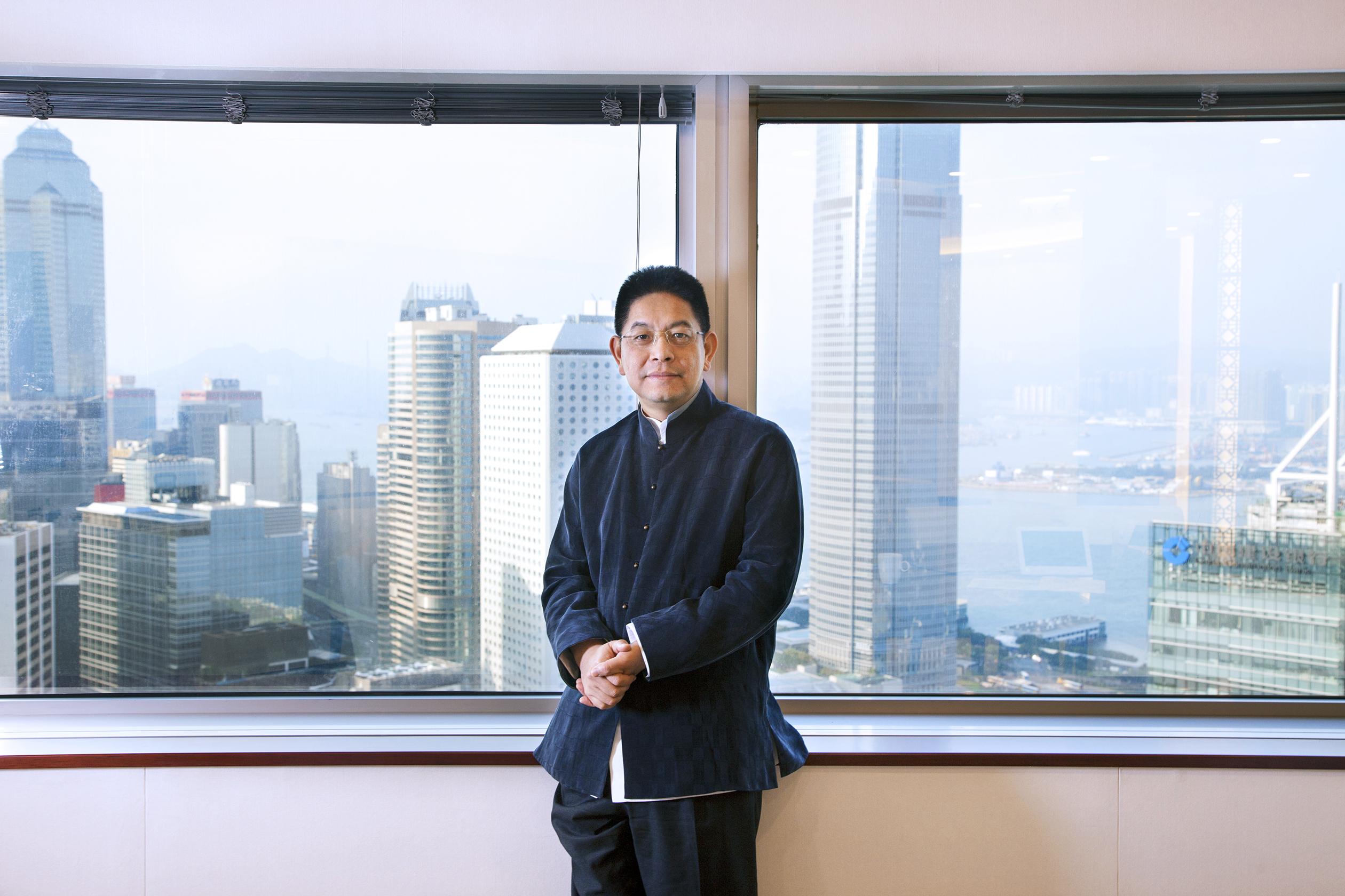 Mr Sonny Wu GSR Ventures(New office, Bank of China Tower HK) November 2015
