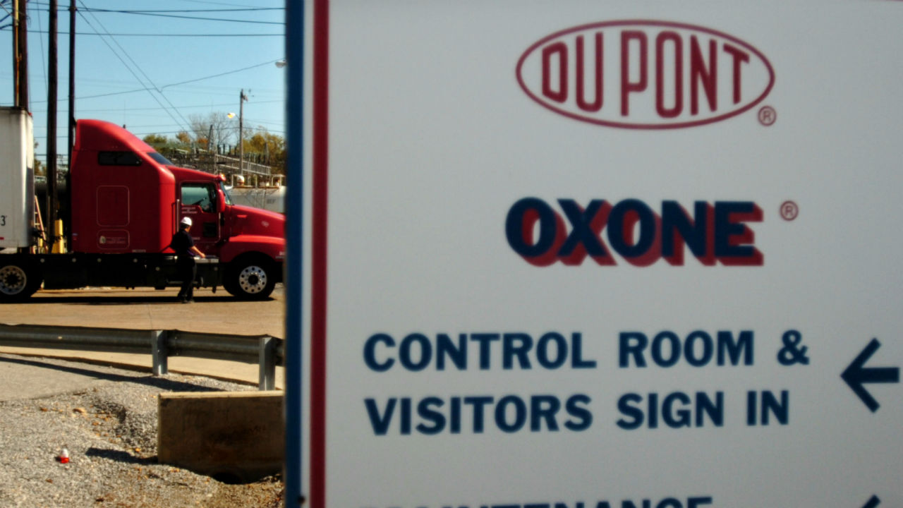DuPont is one company cutting its capital spending.