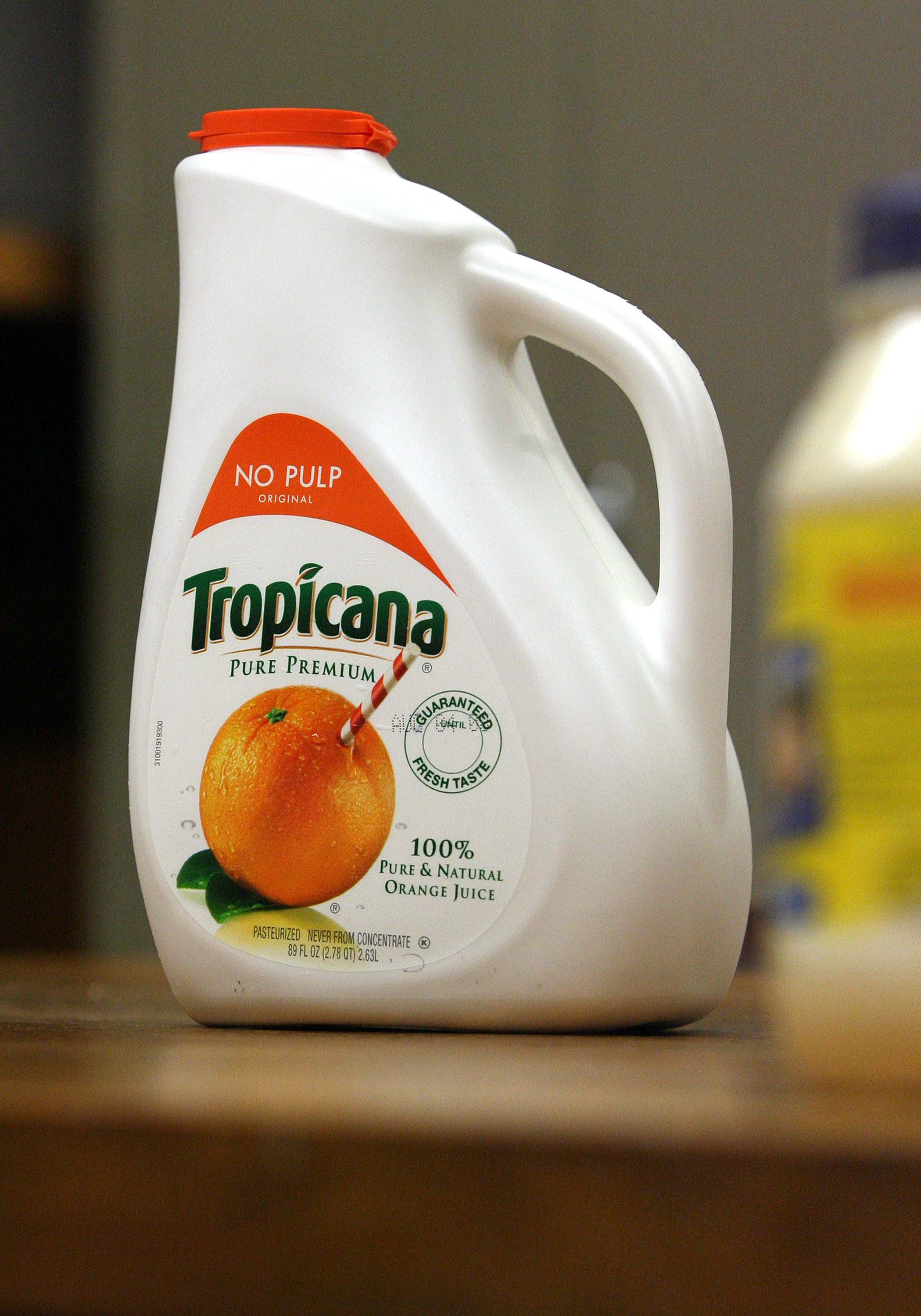 PepsiCo's Tropicana Pure Premium will receive a non-GMO label next year.
