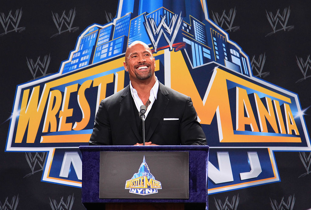 The Rock Dwayne Johnson Will Appear at WWE WrestleMania 32