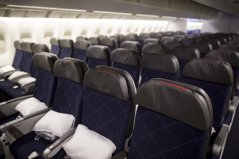 Tour Of An American Airlines Boeing 777-300ER Aircraft As Hong Kong-Dallas Route Is Inaugurated