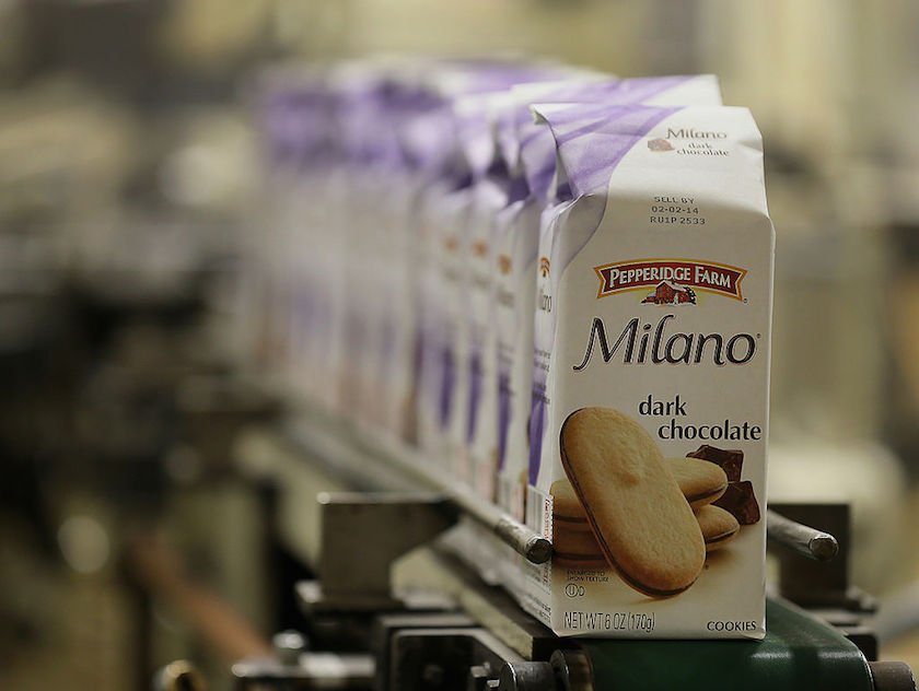 Operations Inside A Pepperidge Farm Production Facility