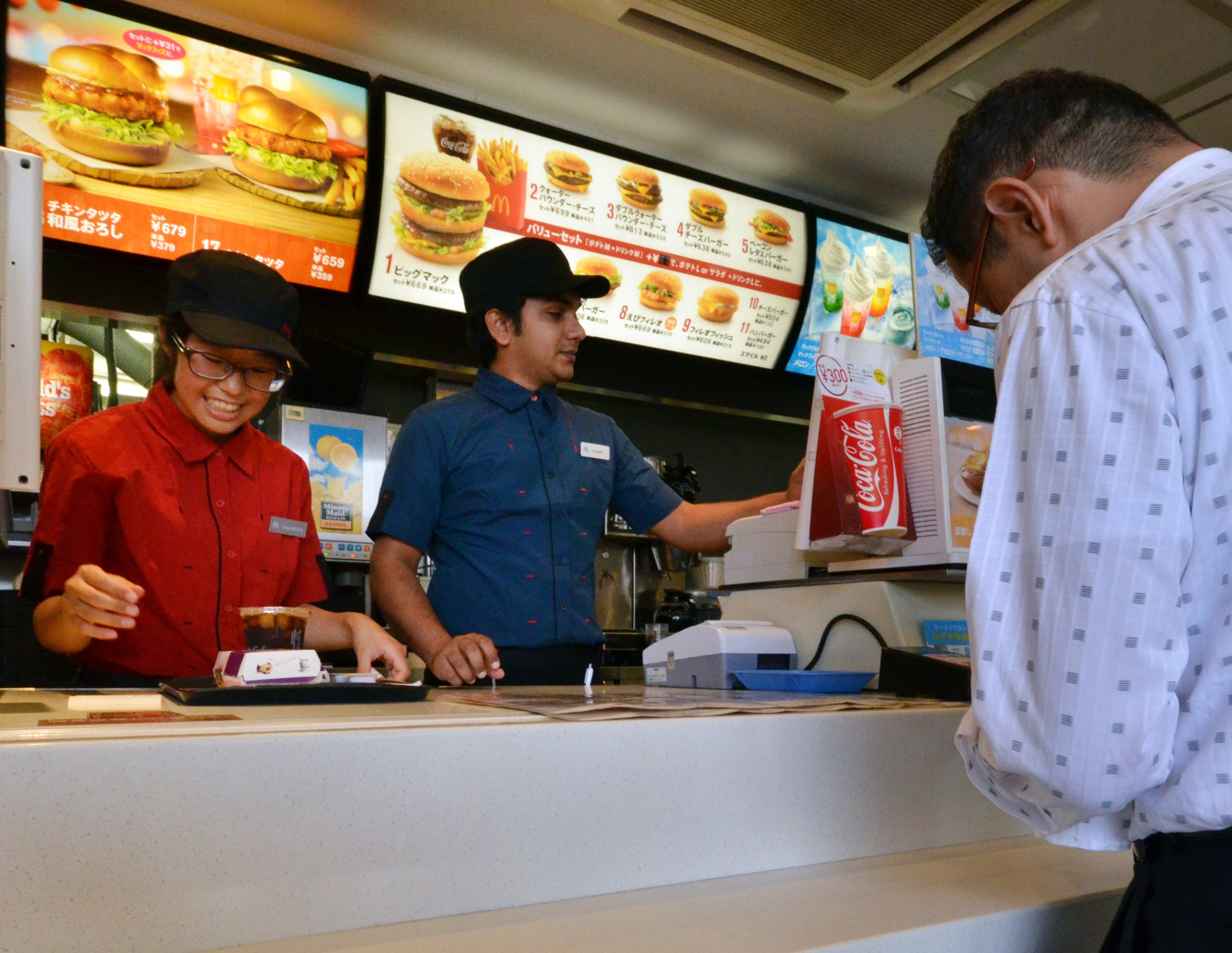 JAPAN-CHINA-US-FOOD-SAFETY-MCDONALD'S