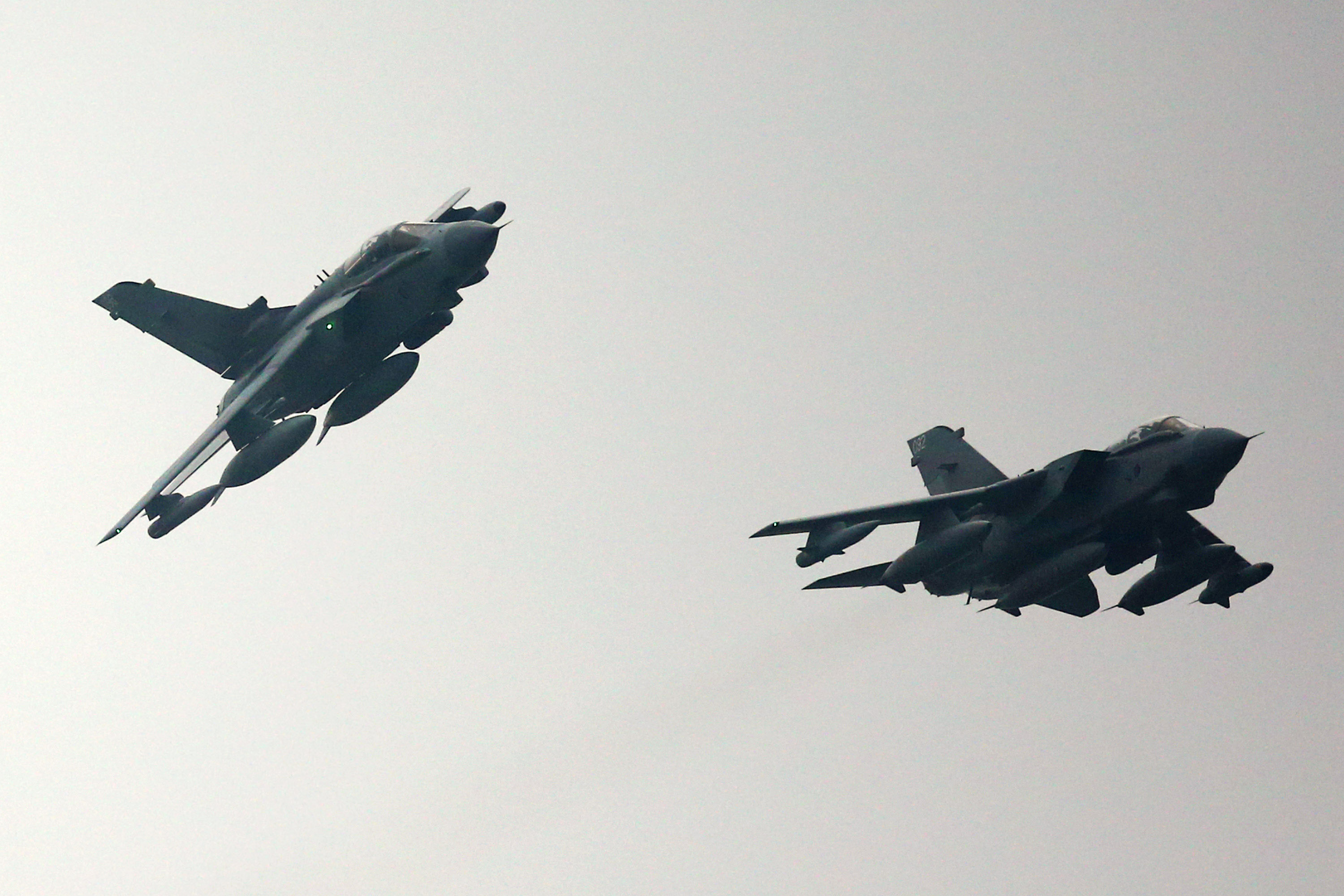 RAF Tornados Arrive Home From Afghanistan For The Last Time