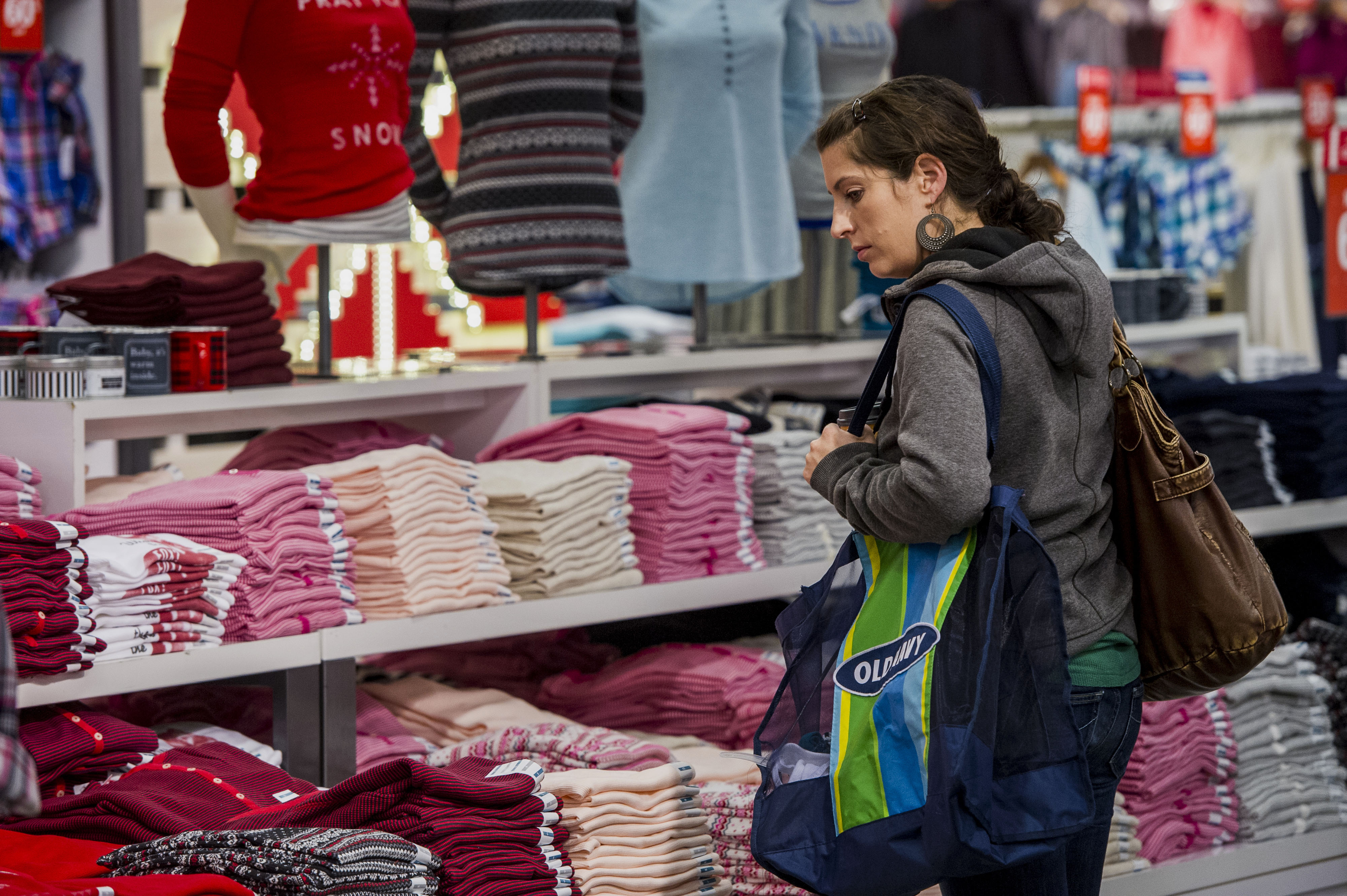 Operations Inside An Old Navy Inc. Store As Retail Sales Rise