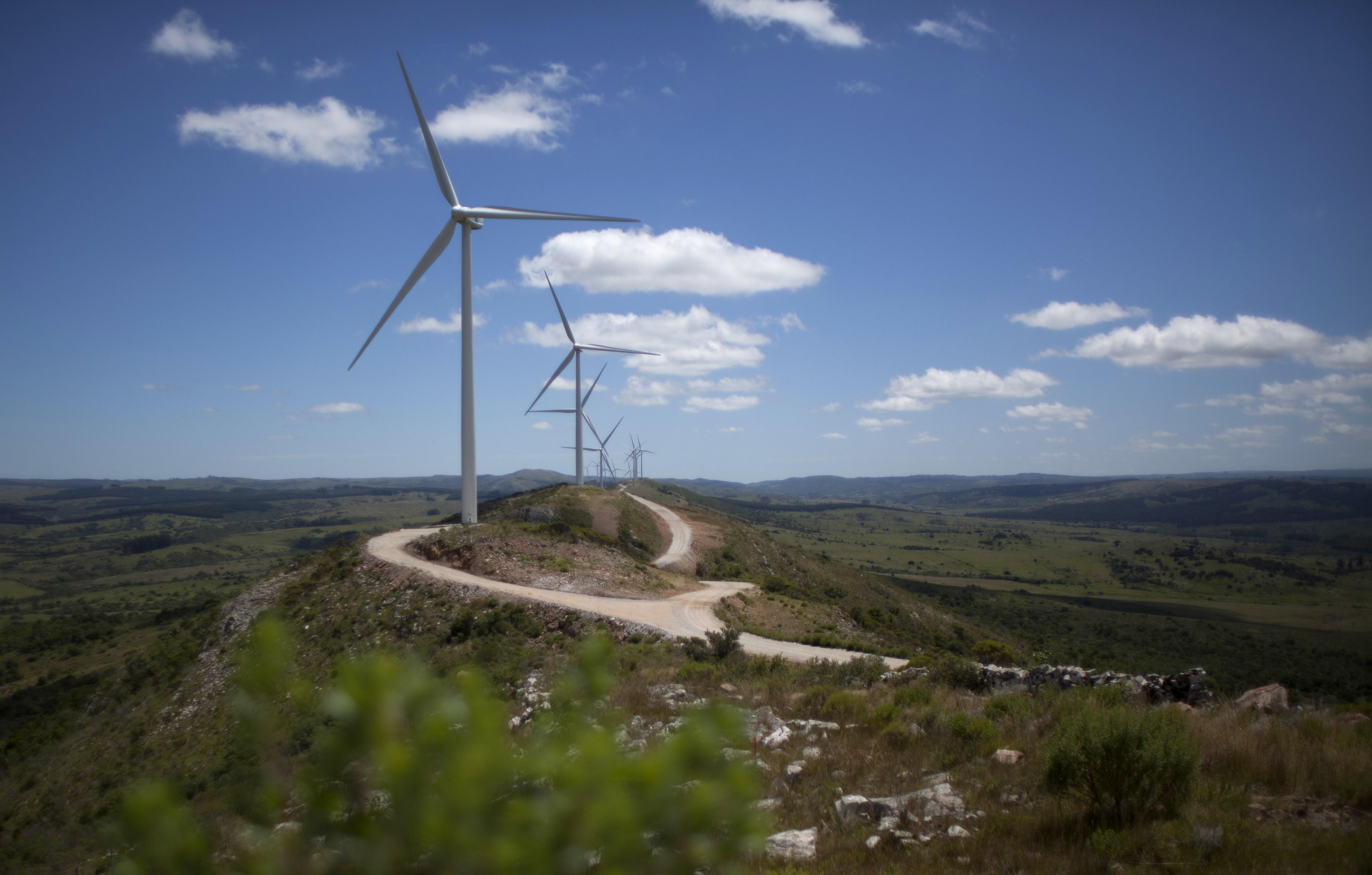 URUGUAY-ENVIRONMENT-ENERGY-WIND