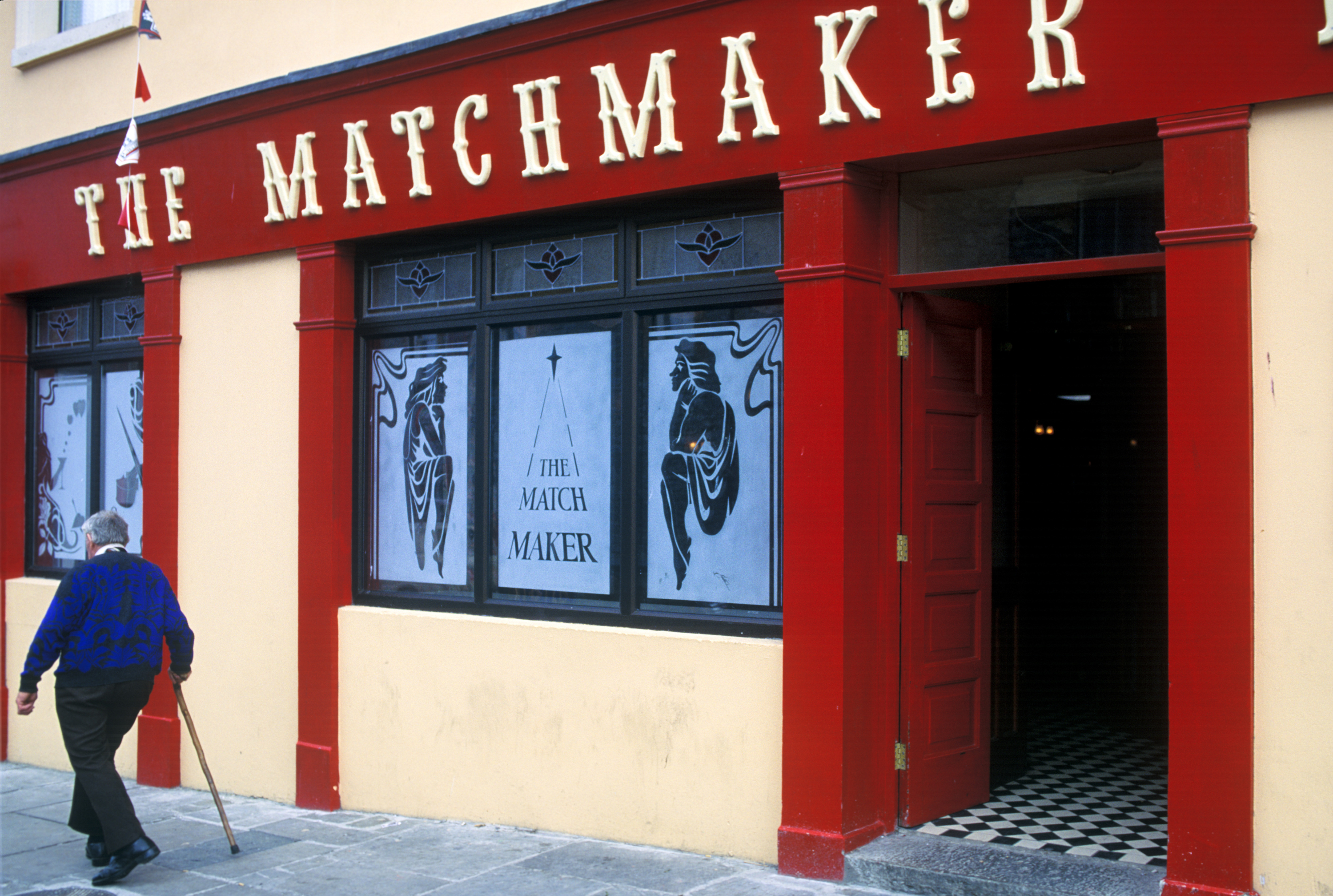 The Matchmaker pub in Listoonvarna, home of the annual