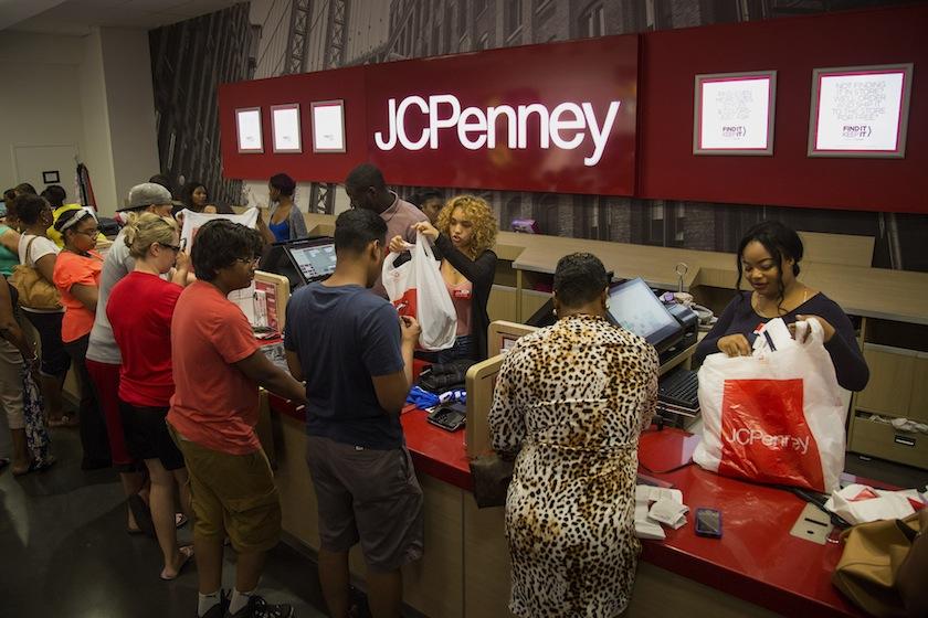 Inside A J.C. Penney Co. Store Ahead Of Earnings Figures