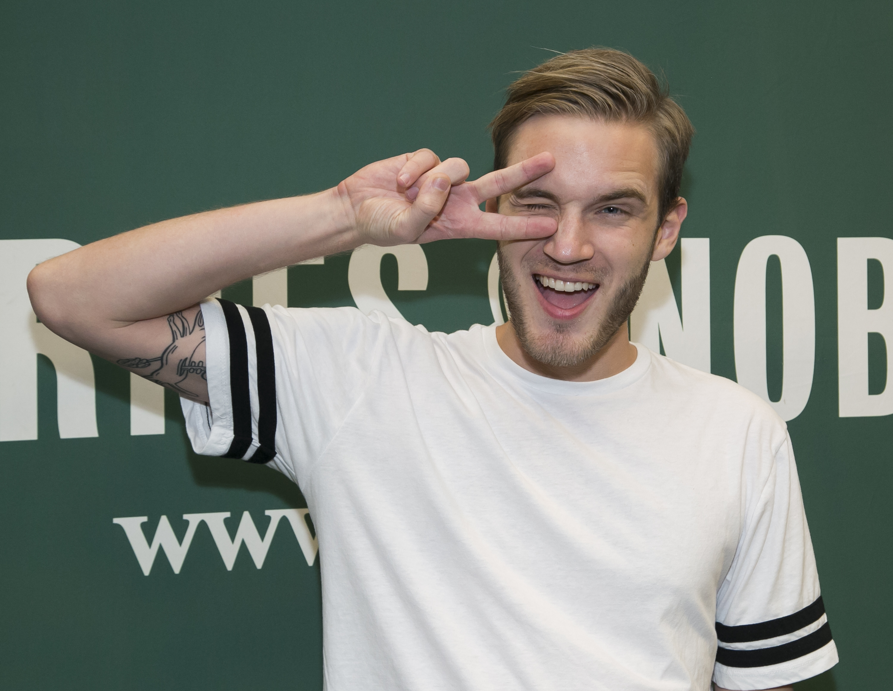 "PewDiePie Book Signing For ""This Book Loves You"""