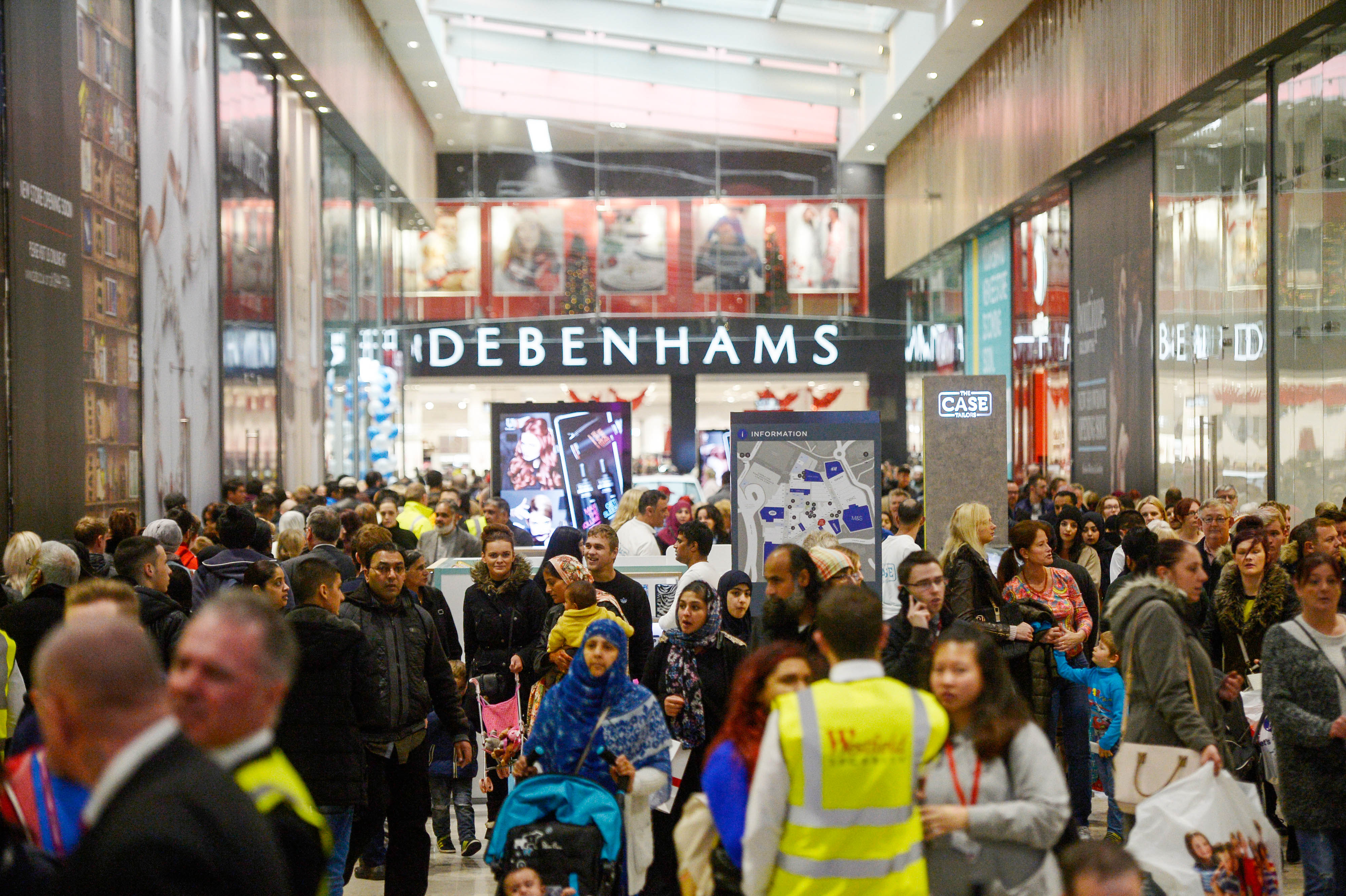 Opening Of $419 million, 550,000 Square-Foot Shopping Complex The Broadway