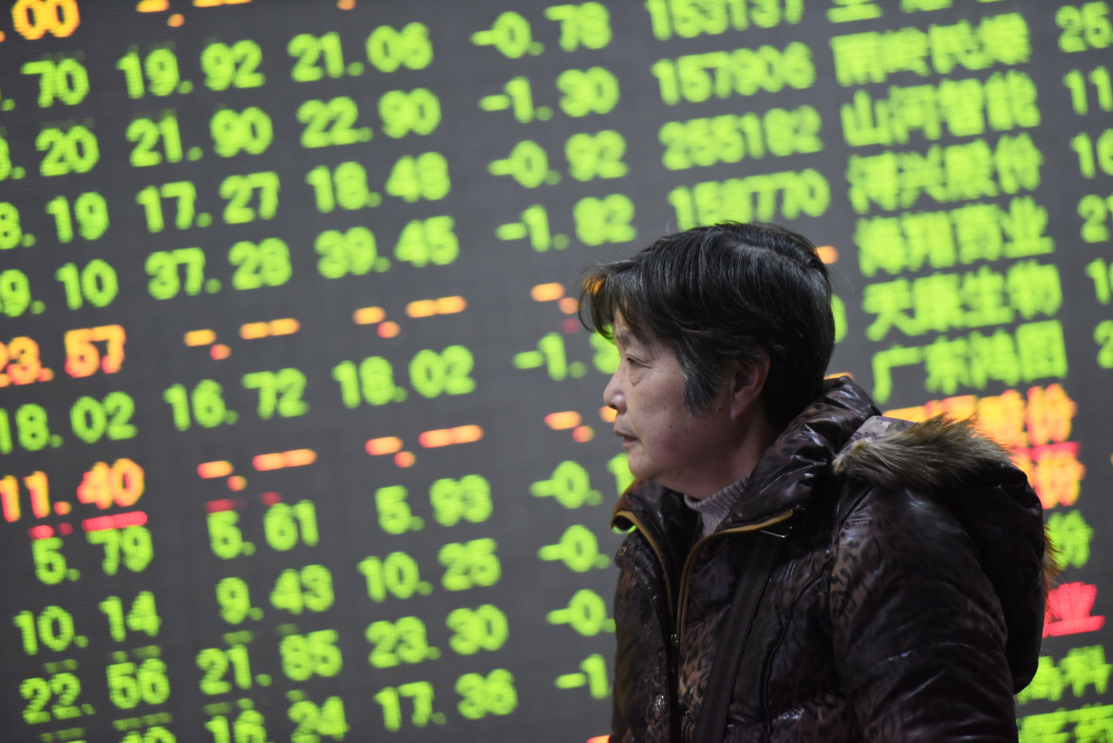 Shanghai Composite Index Drops Nearly 4%