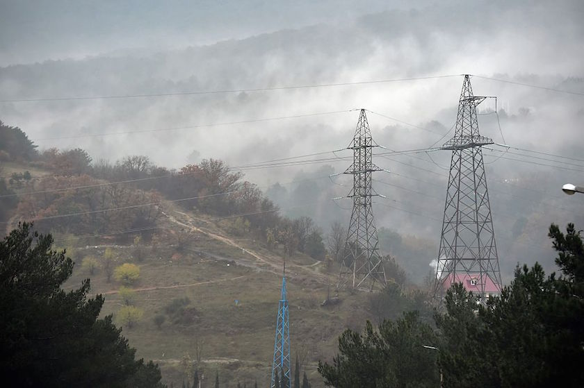 State Of Emergency In Crimea After Crash Of  Electricity Lines