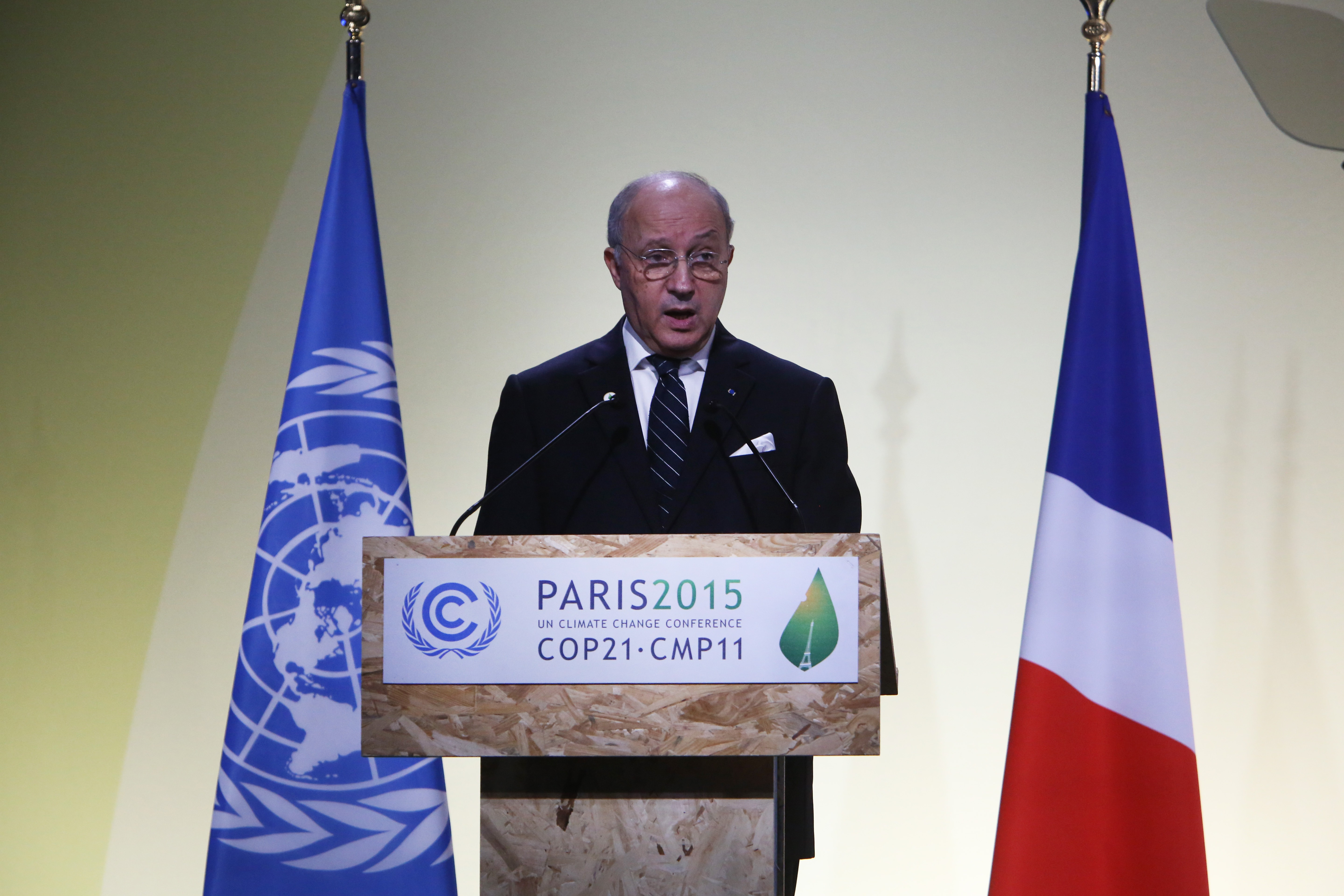21st Session Of Conference On Climate Change COP21 Opens At Le Bourget