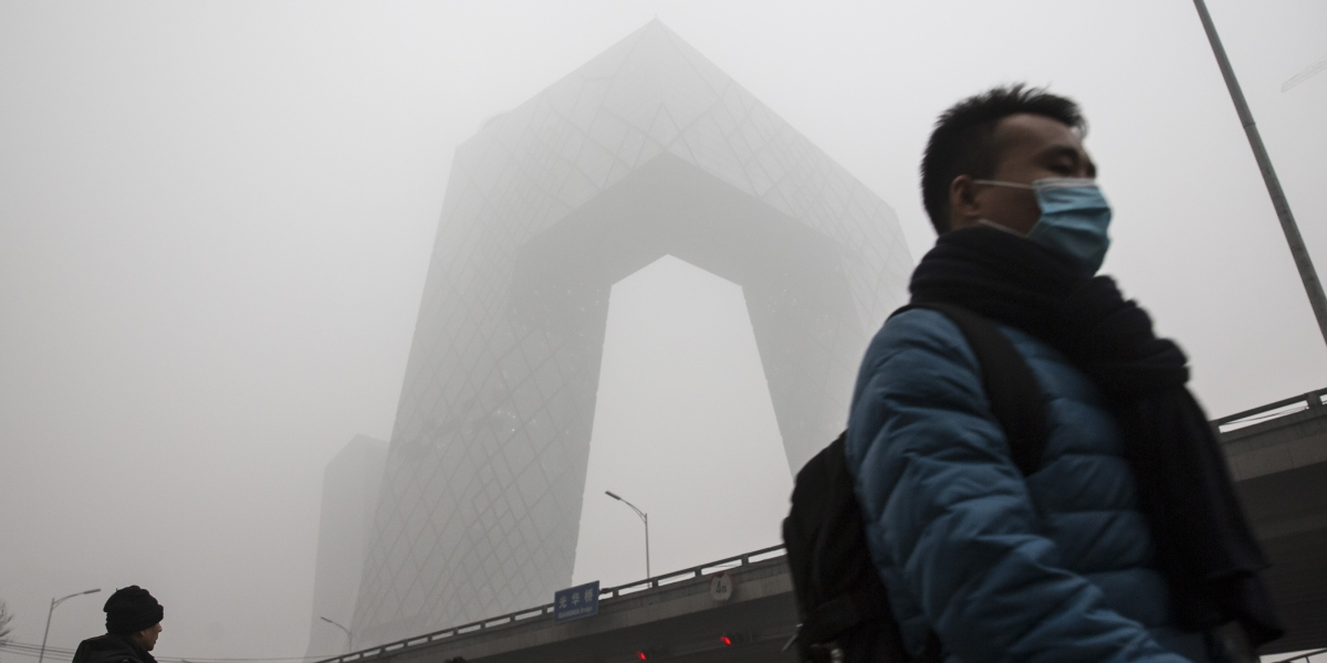 Beijing Issues Another Red Alert Over Smog Fortune