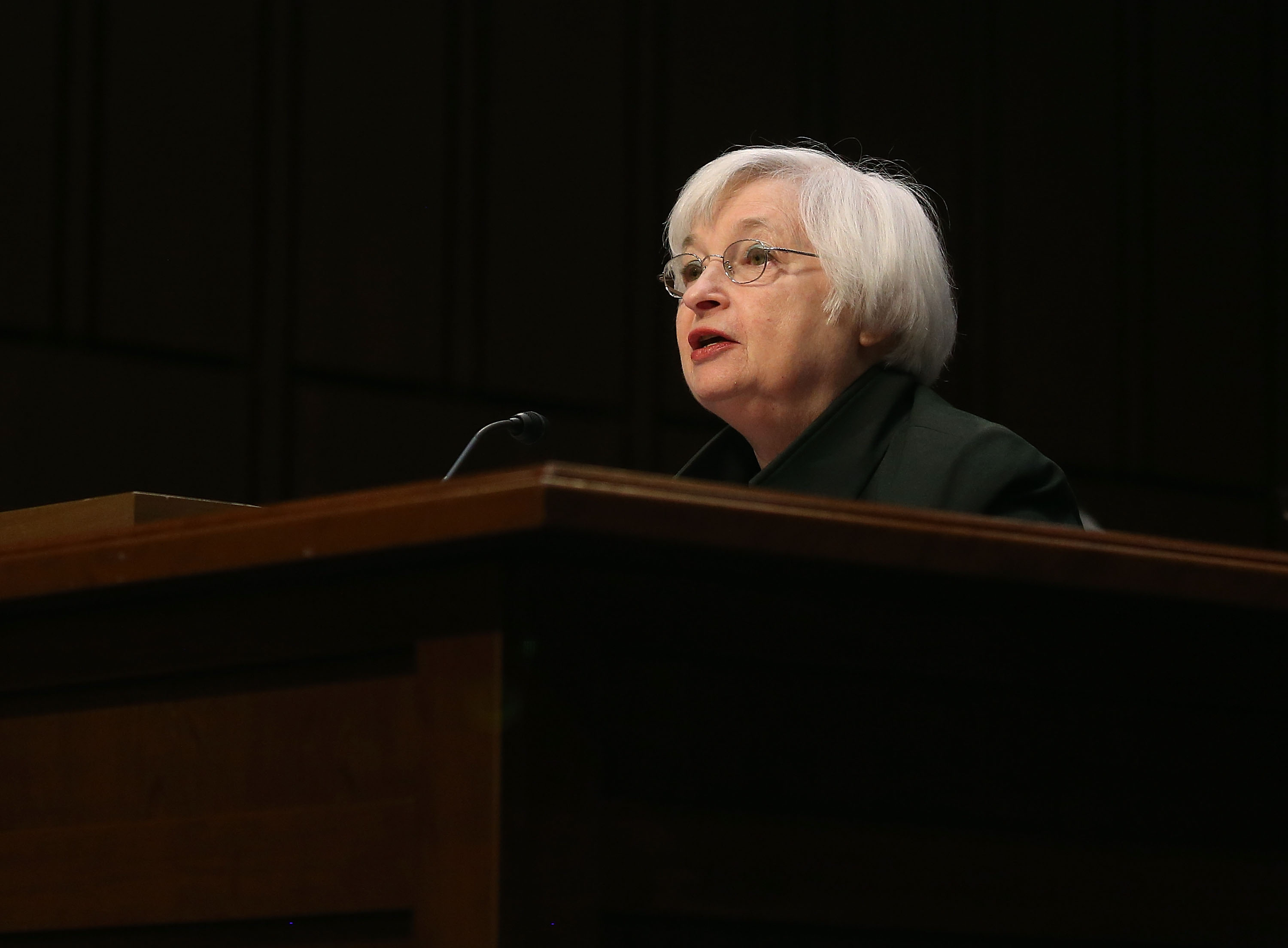Yellen Testifies At Joint Economic Committee Hearing On Economic Outlook