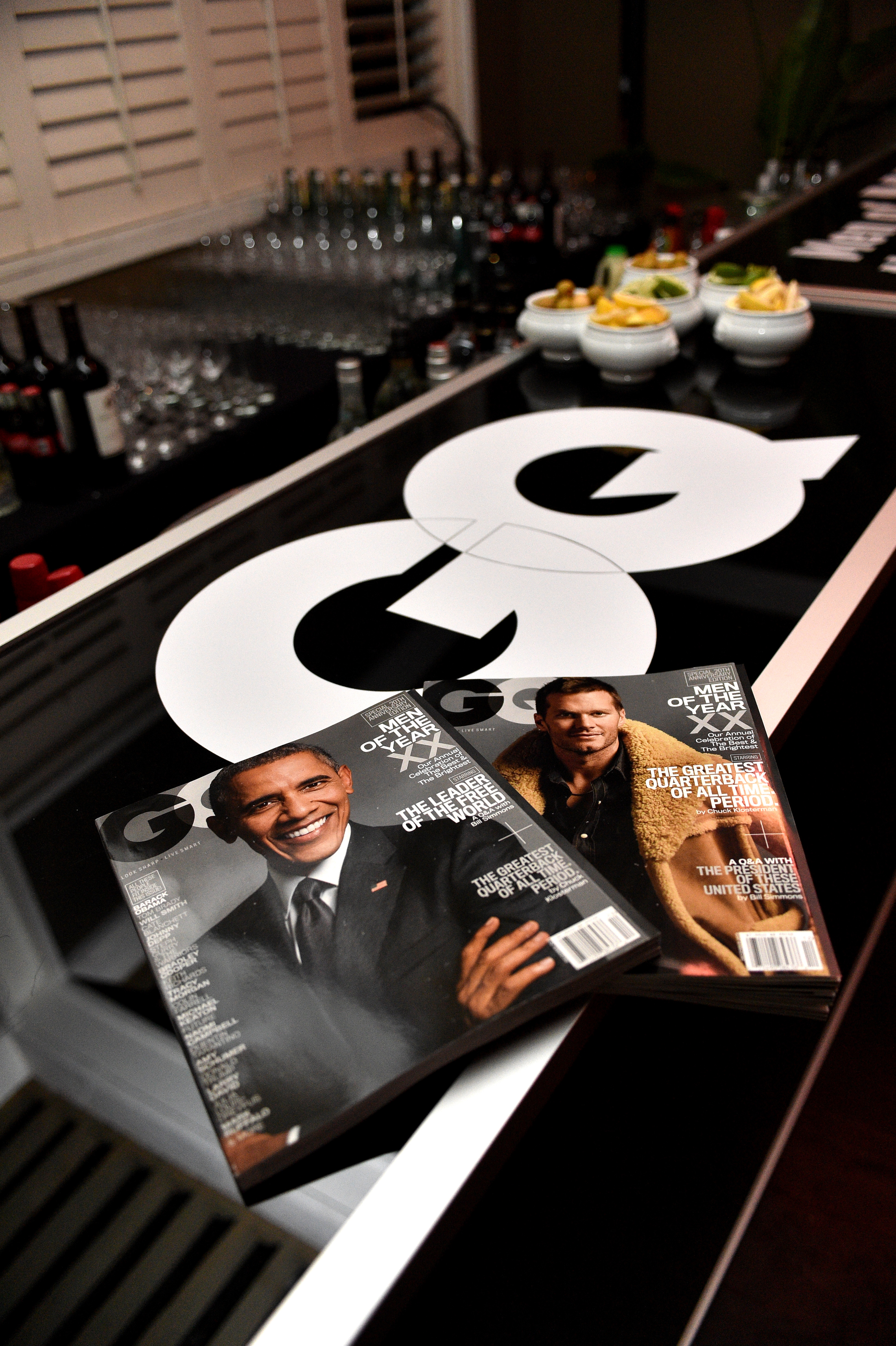 GQ 20th Anniversary Men of the Year Party - Inside