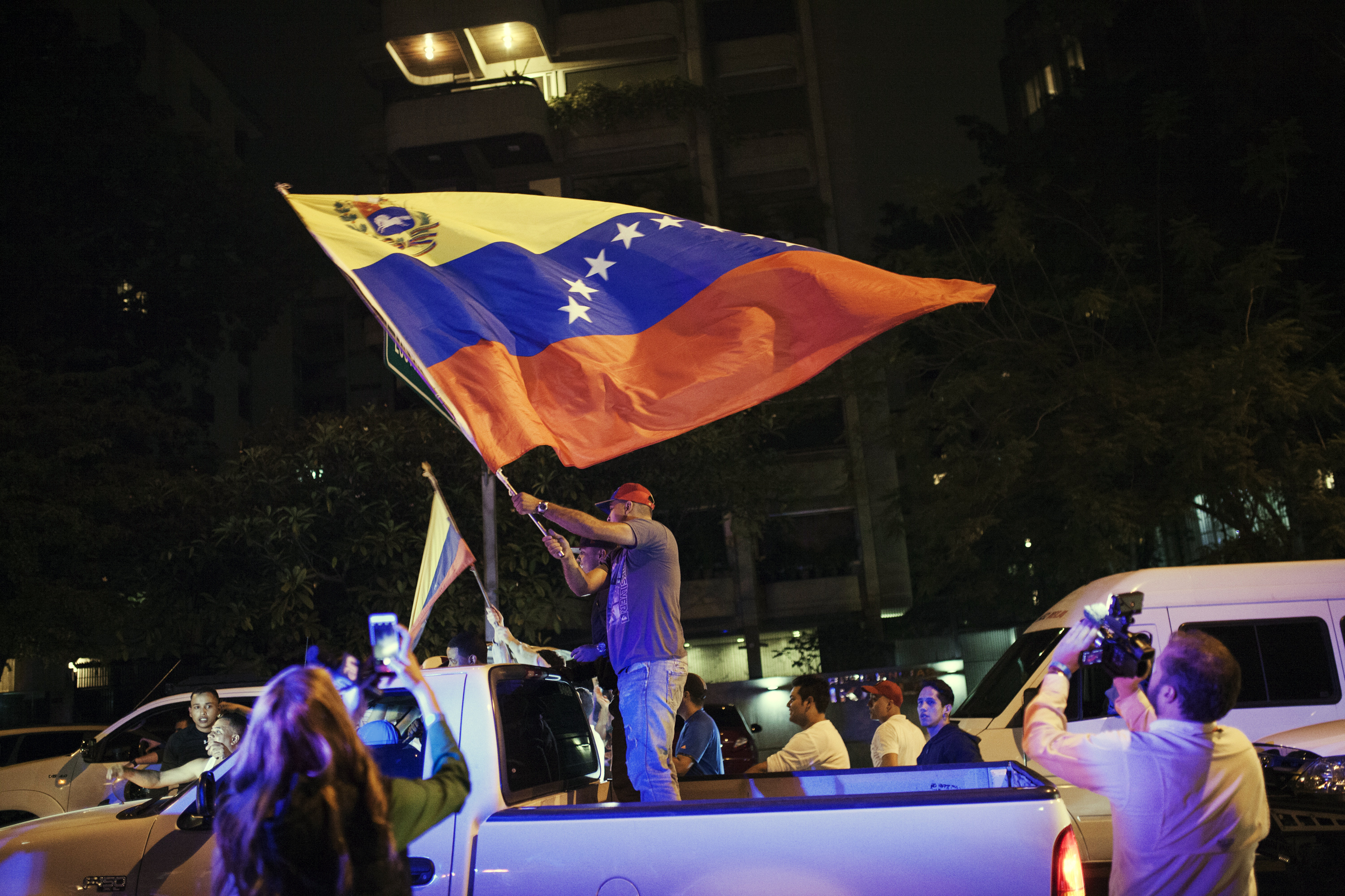 Venezuelans Vote In National Congressional Elections
