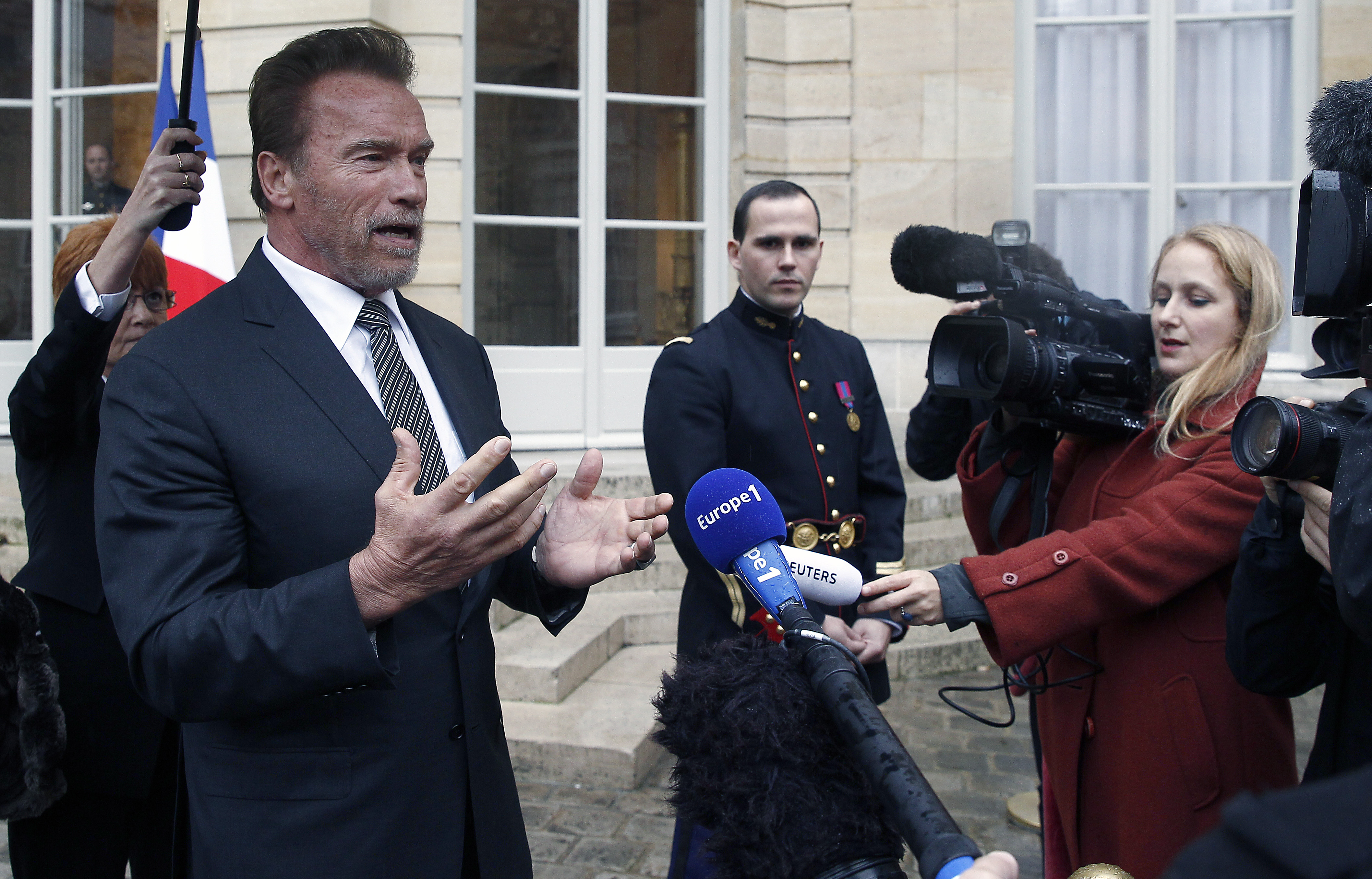 Arnold Schwarzenegger To Climate Change Deniers I Don T