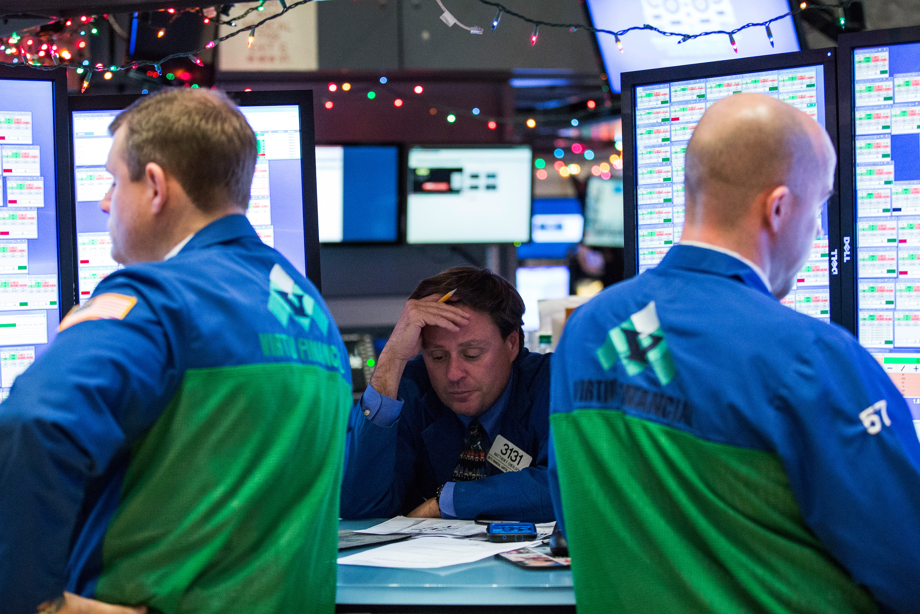 Dow Jones Industrial Average Closes Down 300 Points