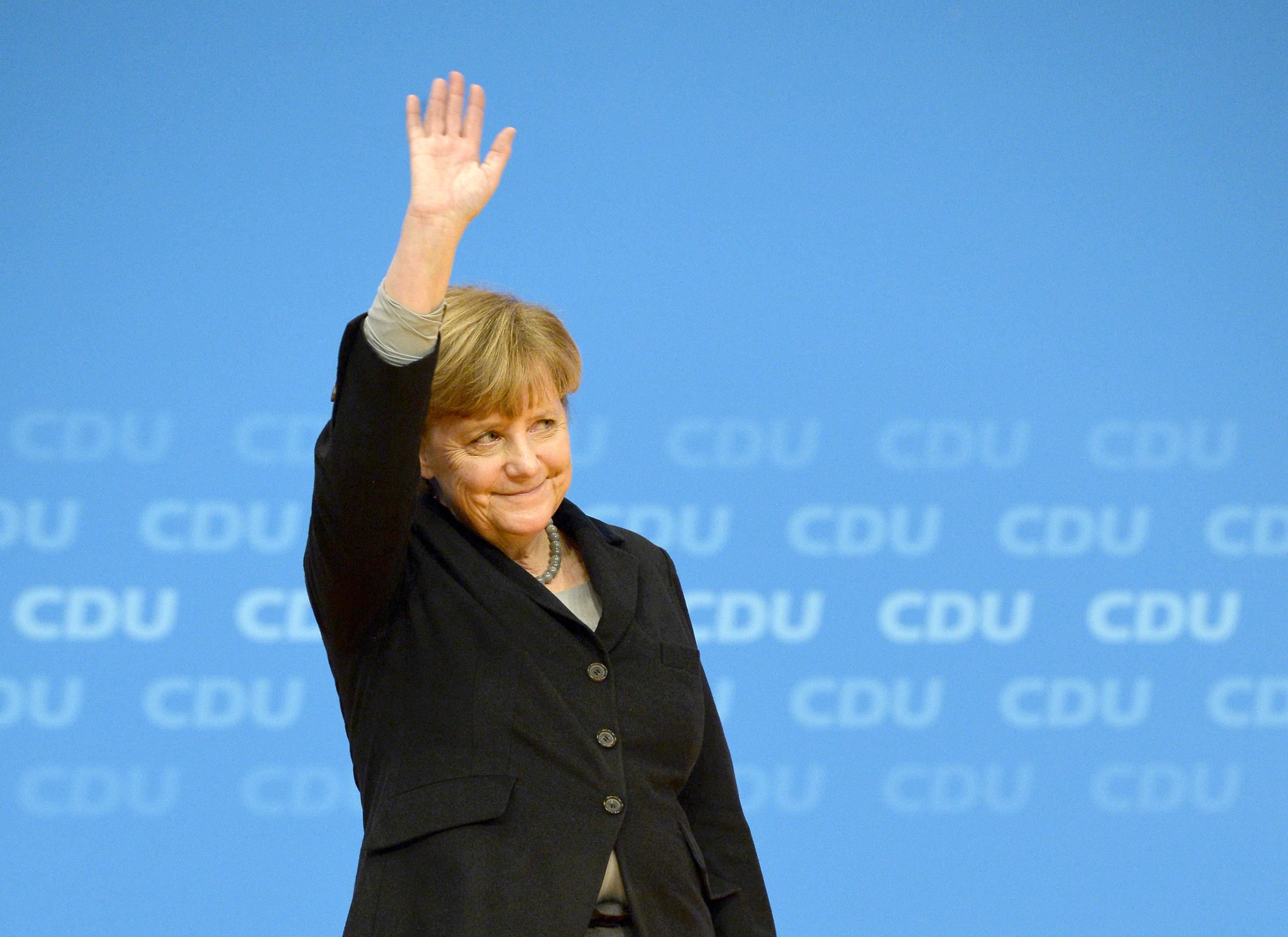 GERMANY-POLITICS-CDU-CONGRESS