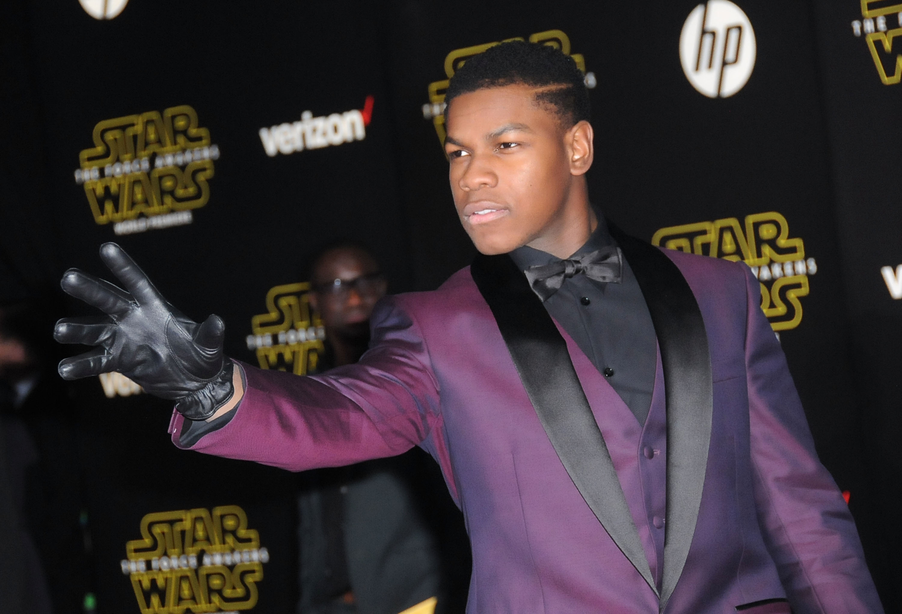 attends the Premiere of Walt Disney Pictures and Lucasfilm's 'Star Wars: The Force Awakens' on December 14, 2015 in Hollywood, California.