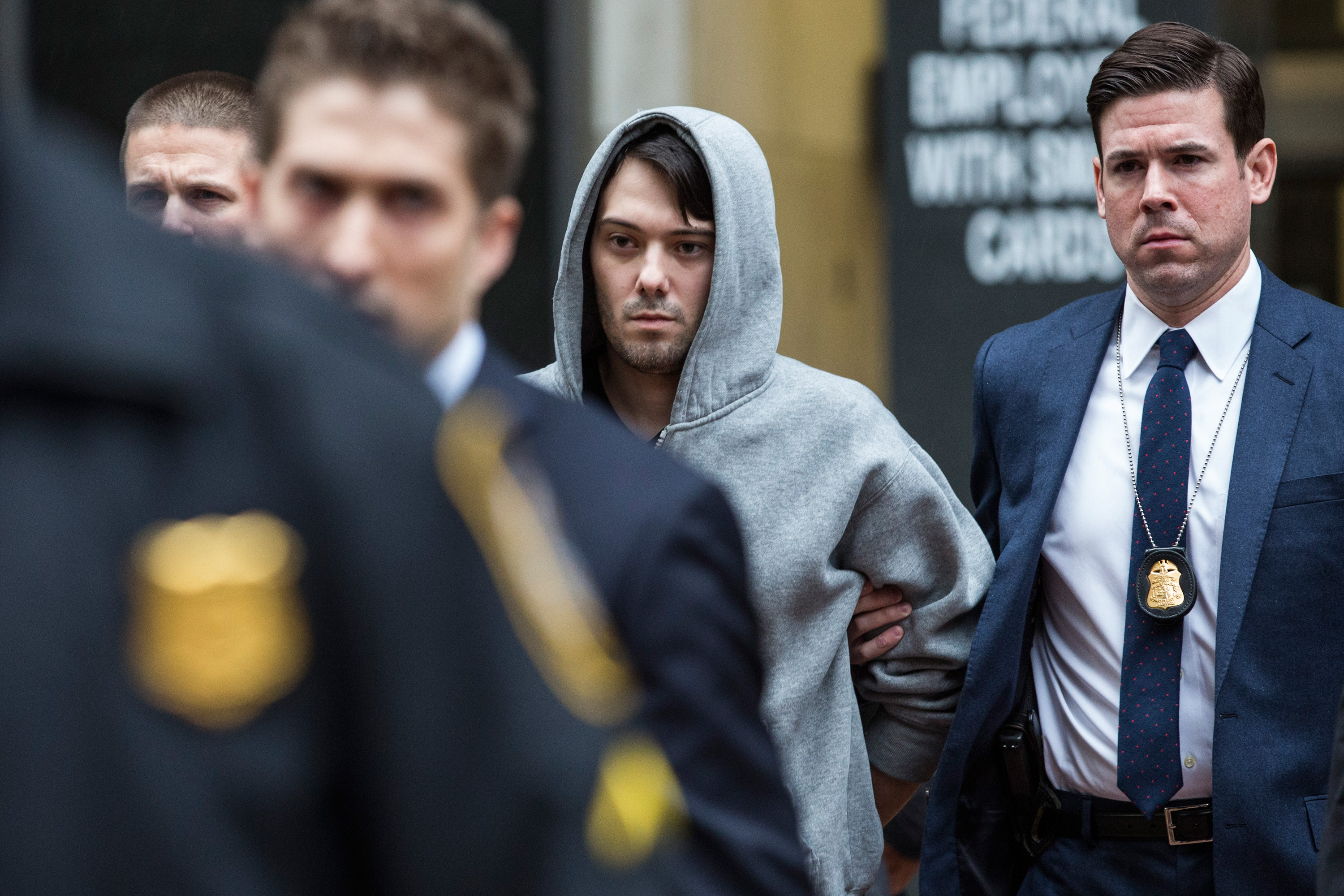 Shkreli was CEO of KaloBios for about a month before his arrest.