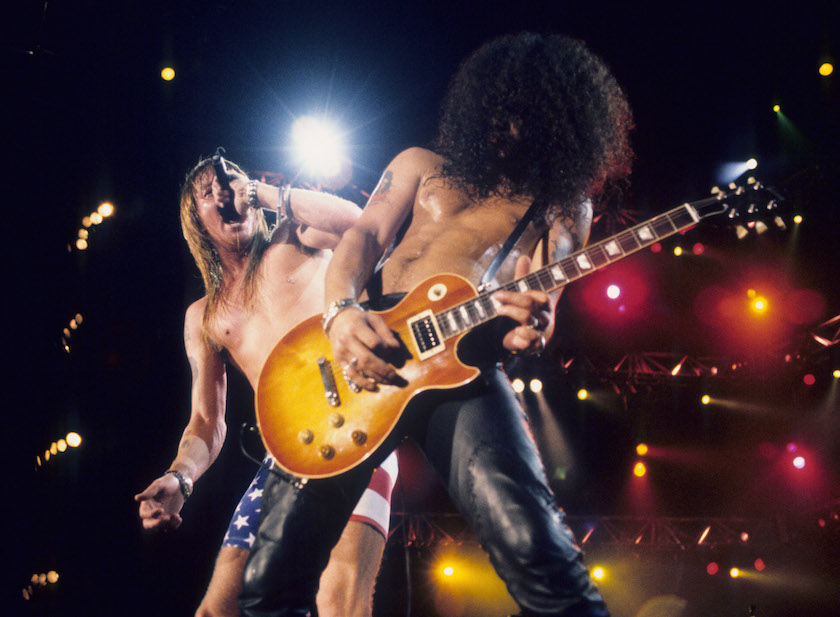Guns N Roses Perform Live At Rock In Rio II