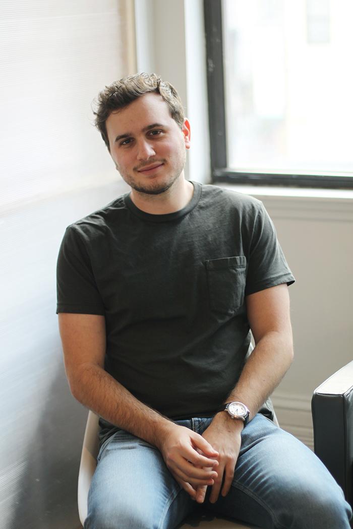 Greg Sewitz, cofounder of Exo