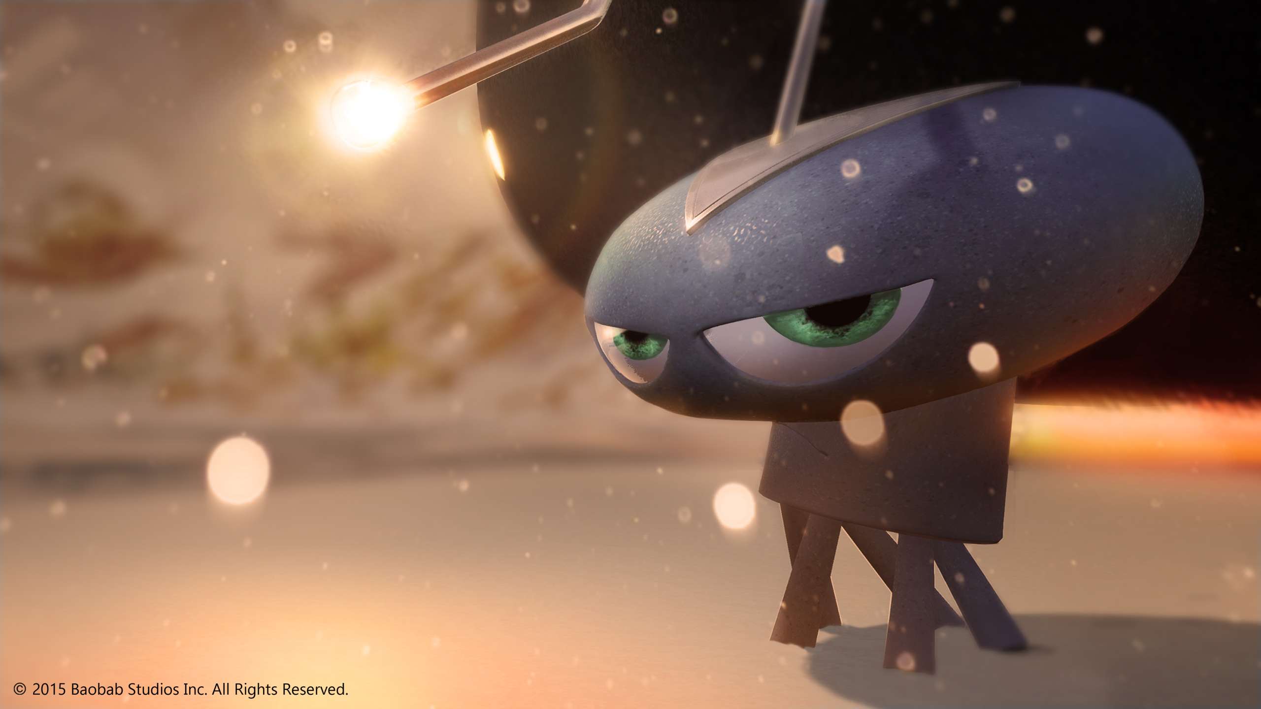 """Boabab Studios has released its first virtual reality short, """"Invasion,"""" on Samsung Gear VR."""