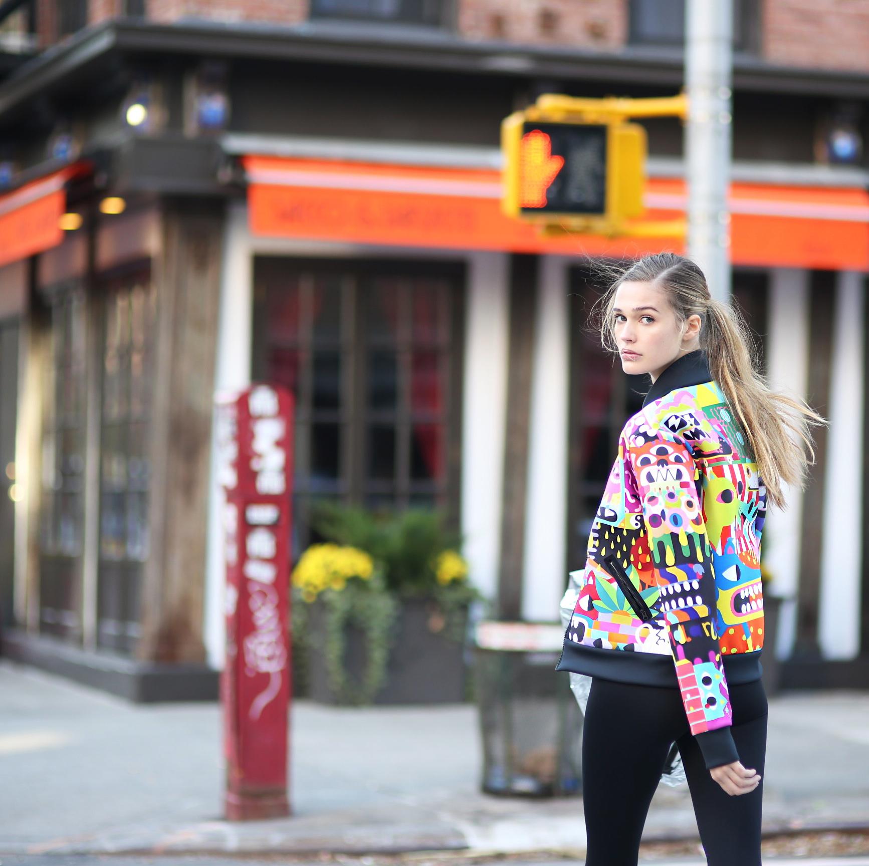 An Ultracor jacket designed by street artist Malarko Hernandez