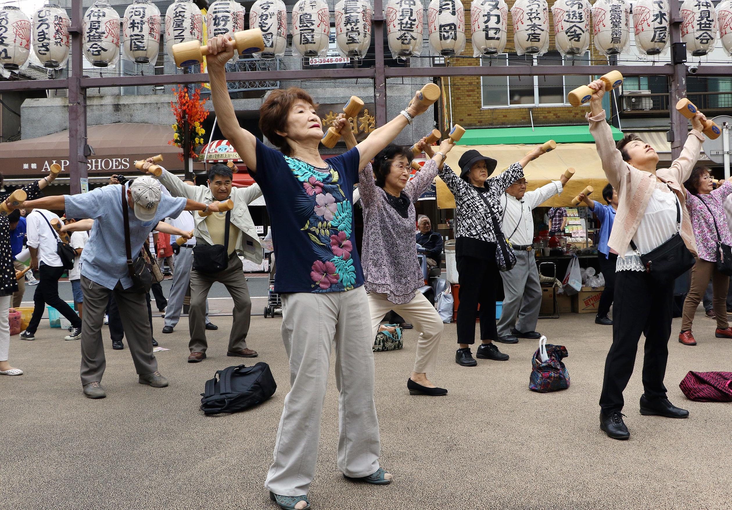 JAPAN-SOCIETY-SENIOR-POPULATION