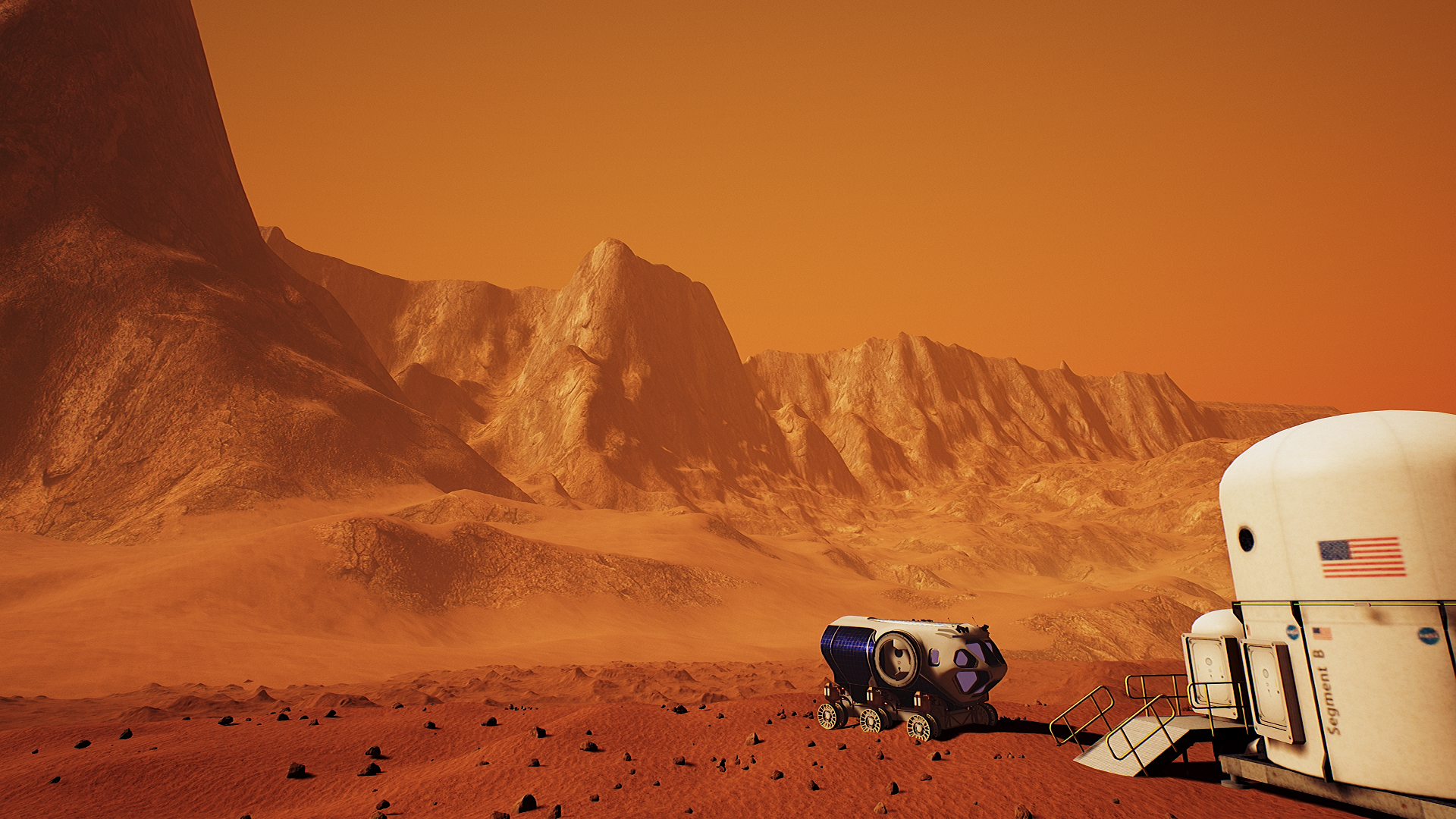 NASA has teamed up with Fusion and MIT to create a virtual reality experience that puts users on Mars.