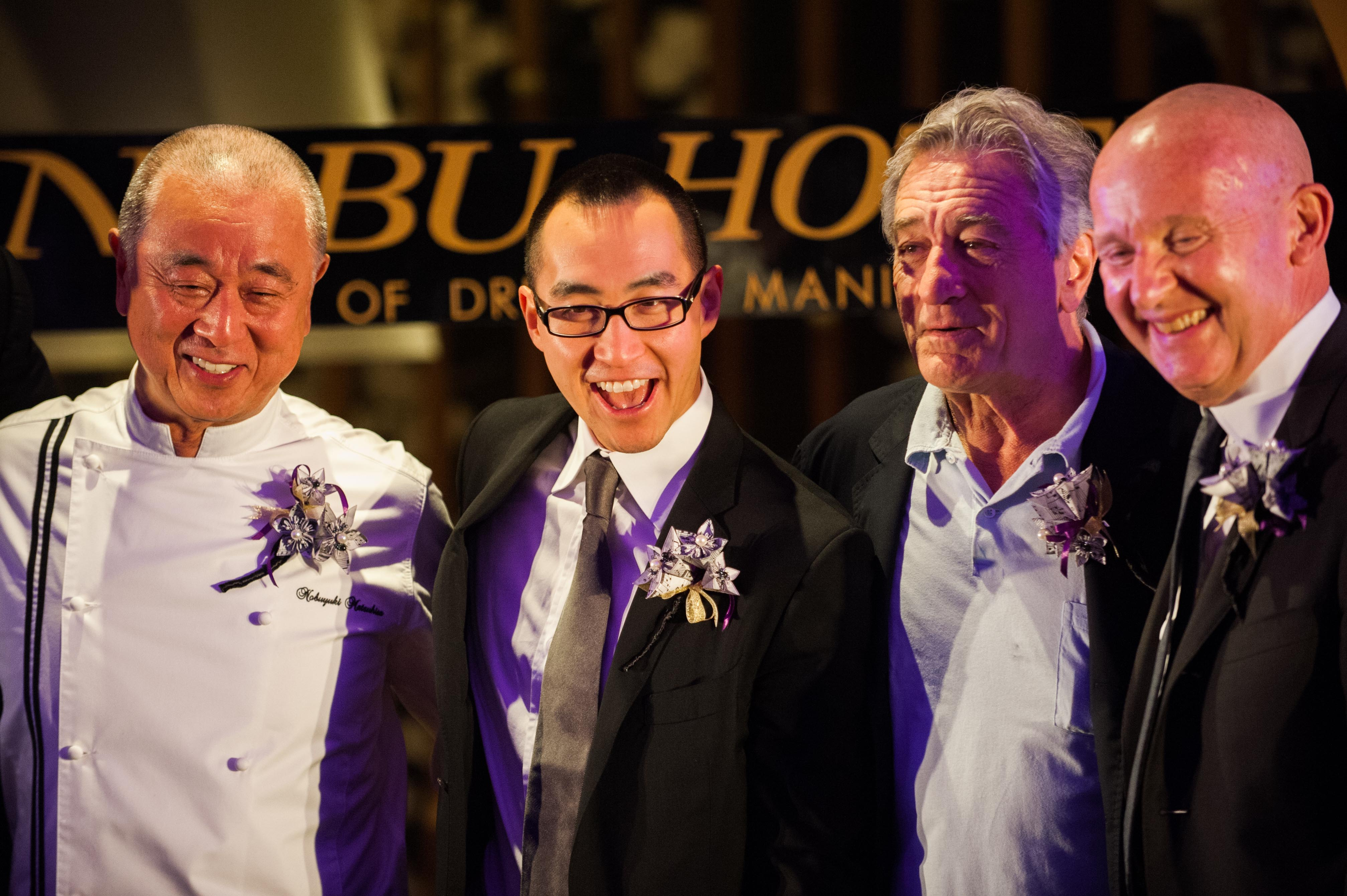 Robert De Niro Launches DeNiro's Nobu Hotel In Manila