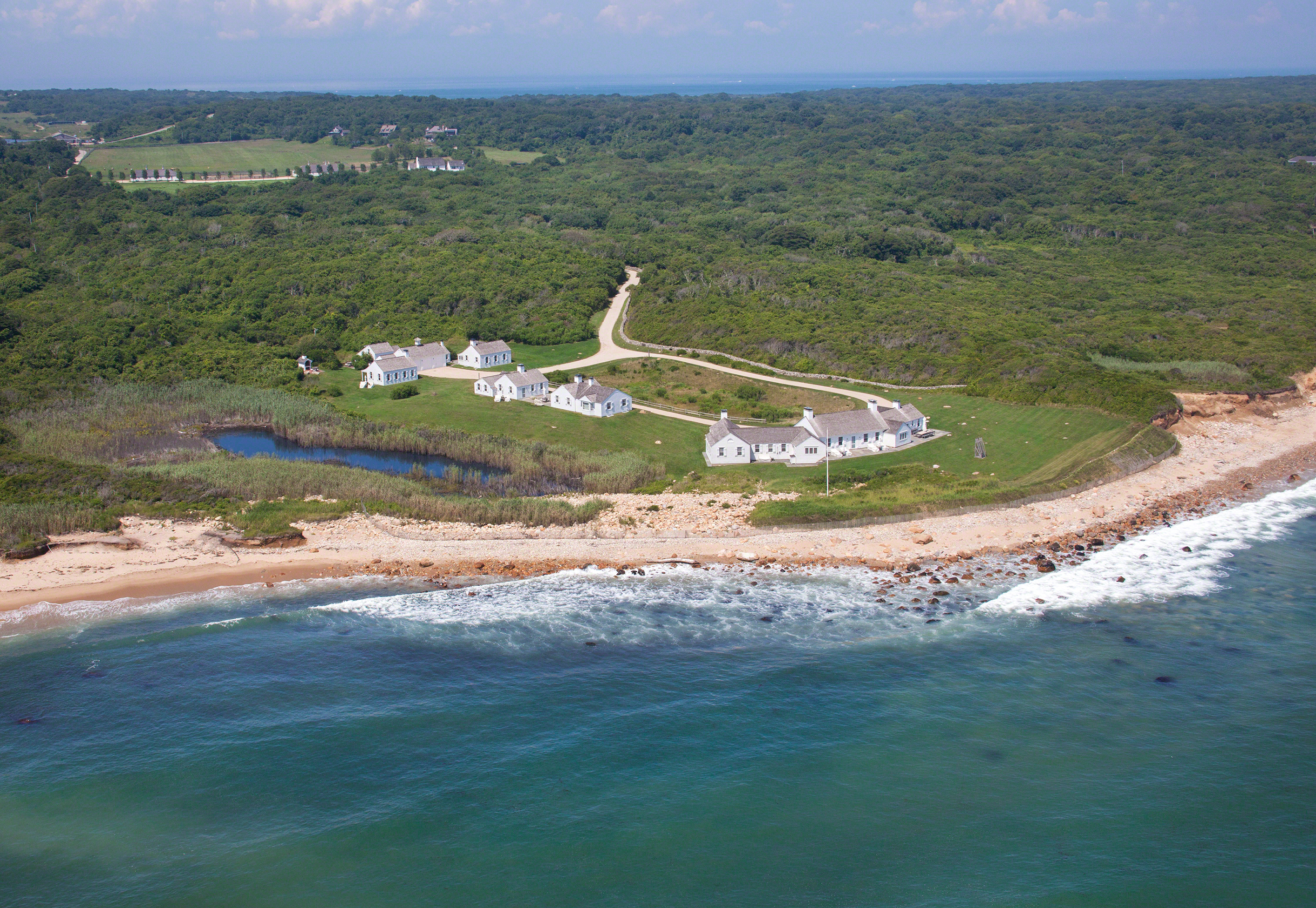 The 5.7-acre Montauk estate, previously owned by Andy Warhol and J.Crew CEO Mickey Drexler, was sold for $50 million.