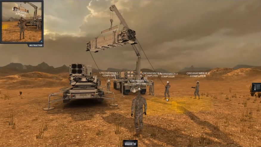The Army is using Raytheon virtual reality technology to train soldiers.