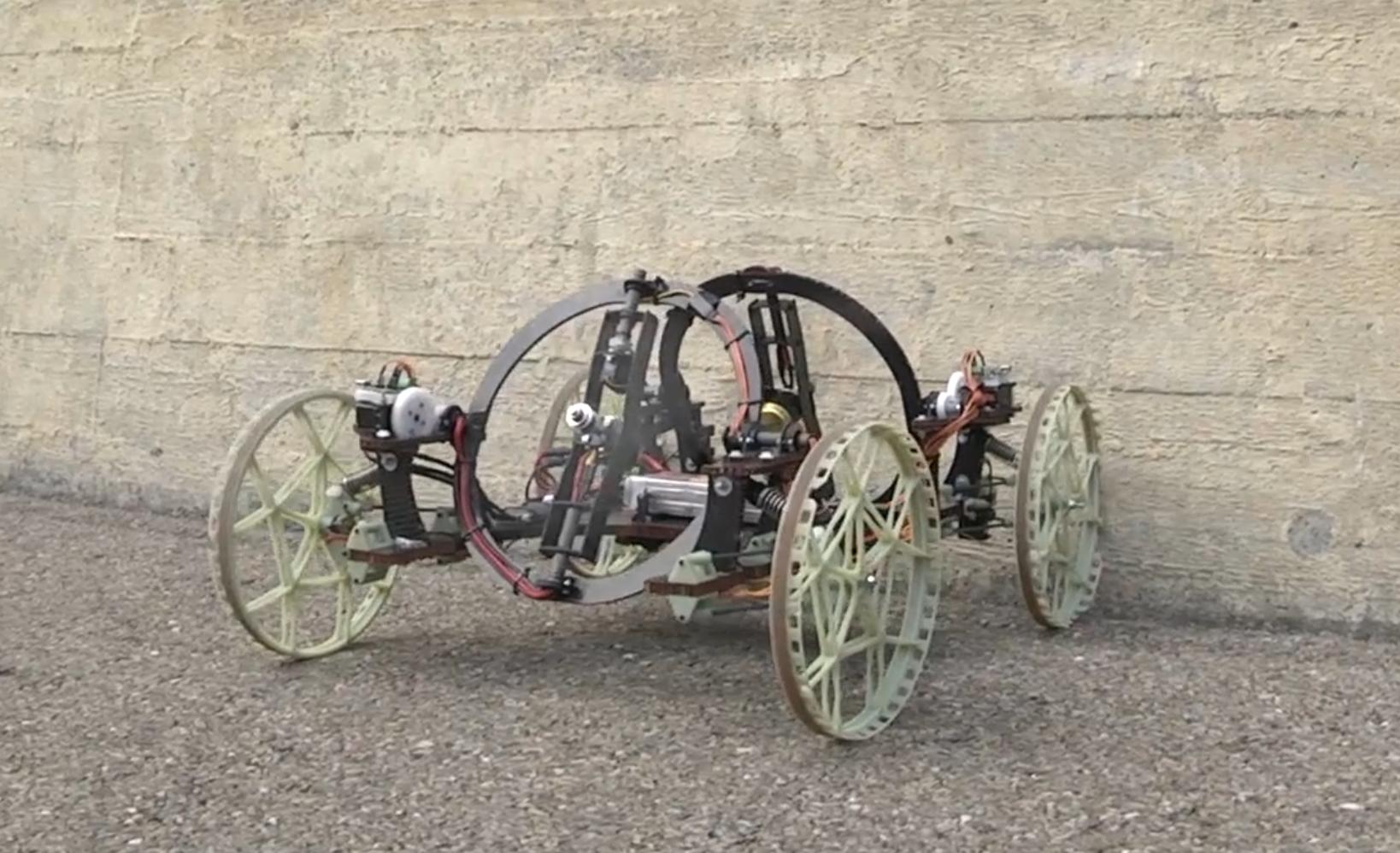 Disney has developed a robot called VertiGo that can climb walls.