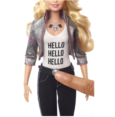 The first Internet-connected Barbie doll.