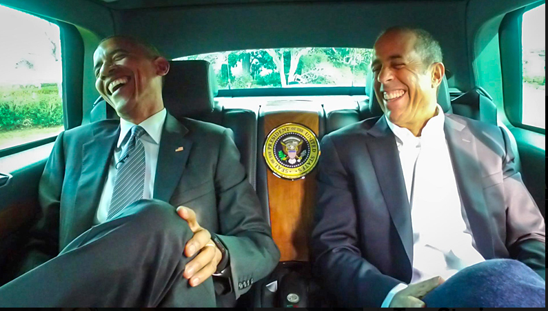 Jerry Seinfeld and Barack Obama, Comedians in Cars Getting Coffee