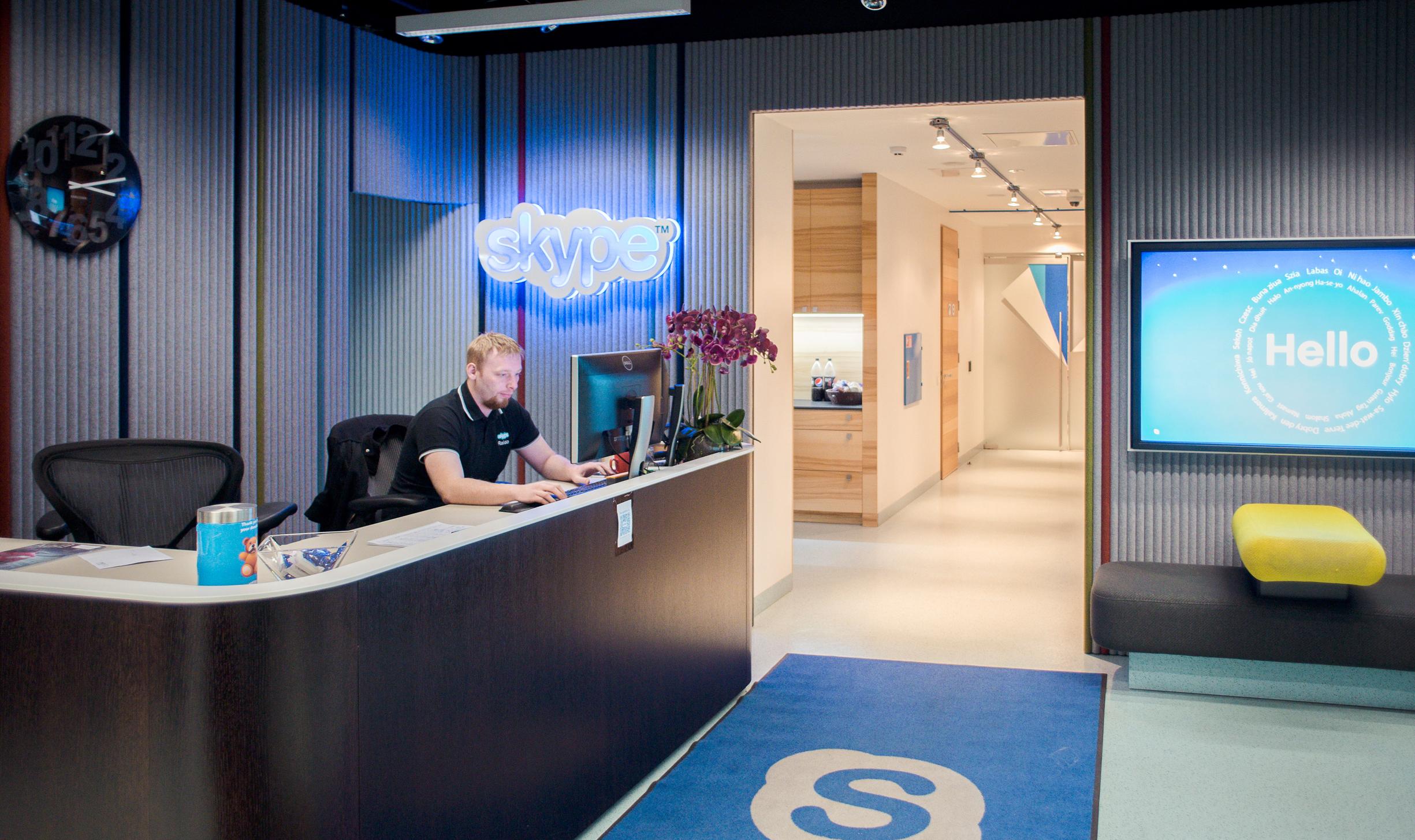 Skype headquarters in Tallinn, Estonia.