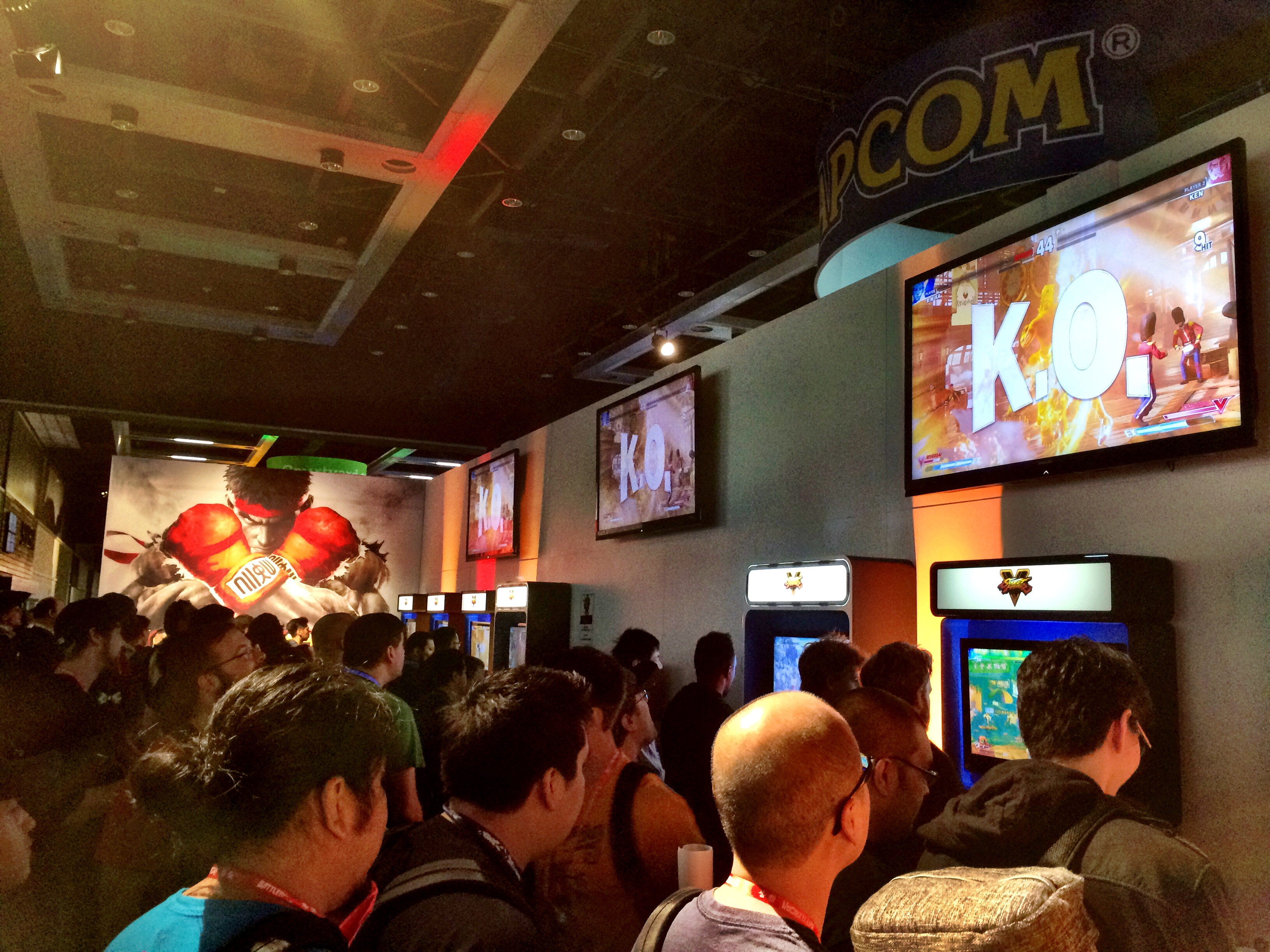 "Gamers play ""Ultra Street Fighter IV"" as part of the Capcom Pro Tour, which has $250,000 up for grabs."