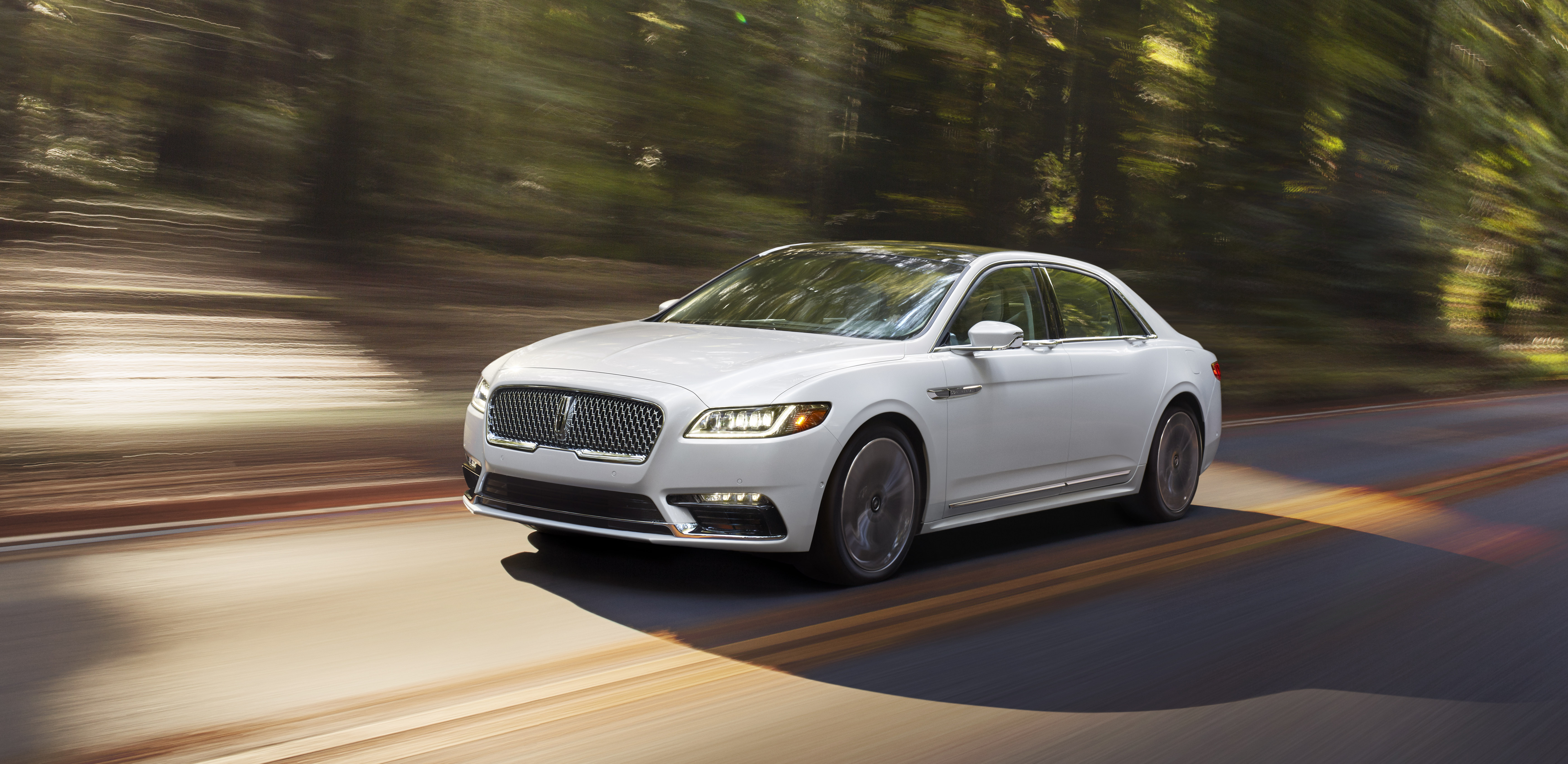 The all-new Lincoln Continental flagship sedan goes on sale in the fall.