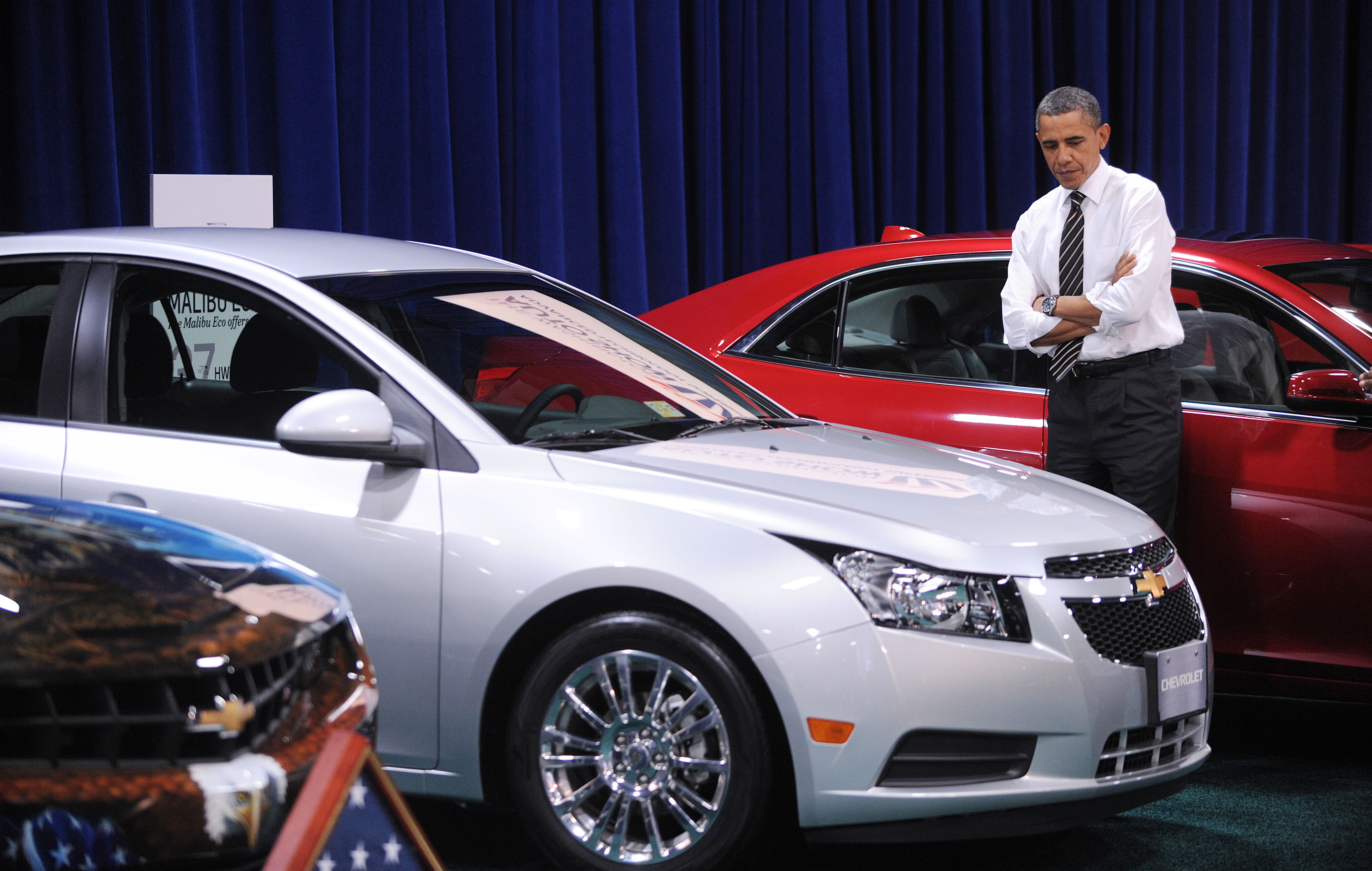 President Obama Visits The DC Auto Show 2016