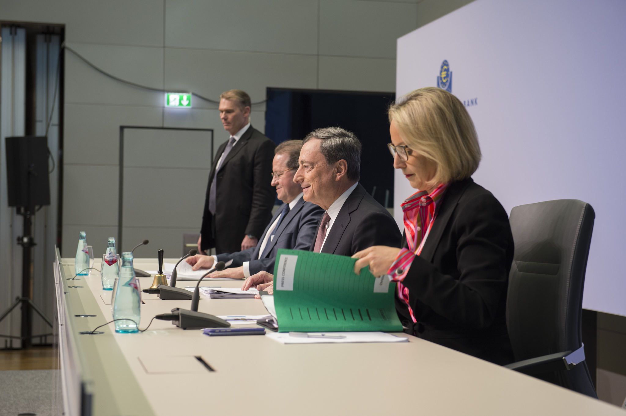 Swings of a dove: Draghi promises 'whatever it takes' again--but only in March.