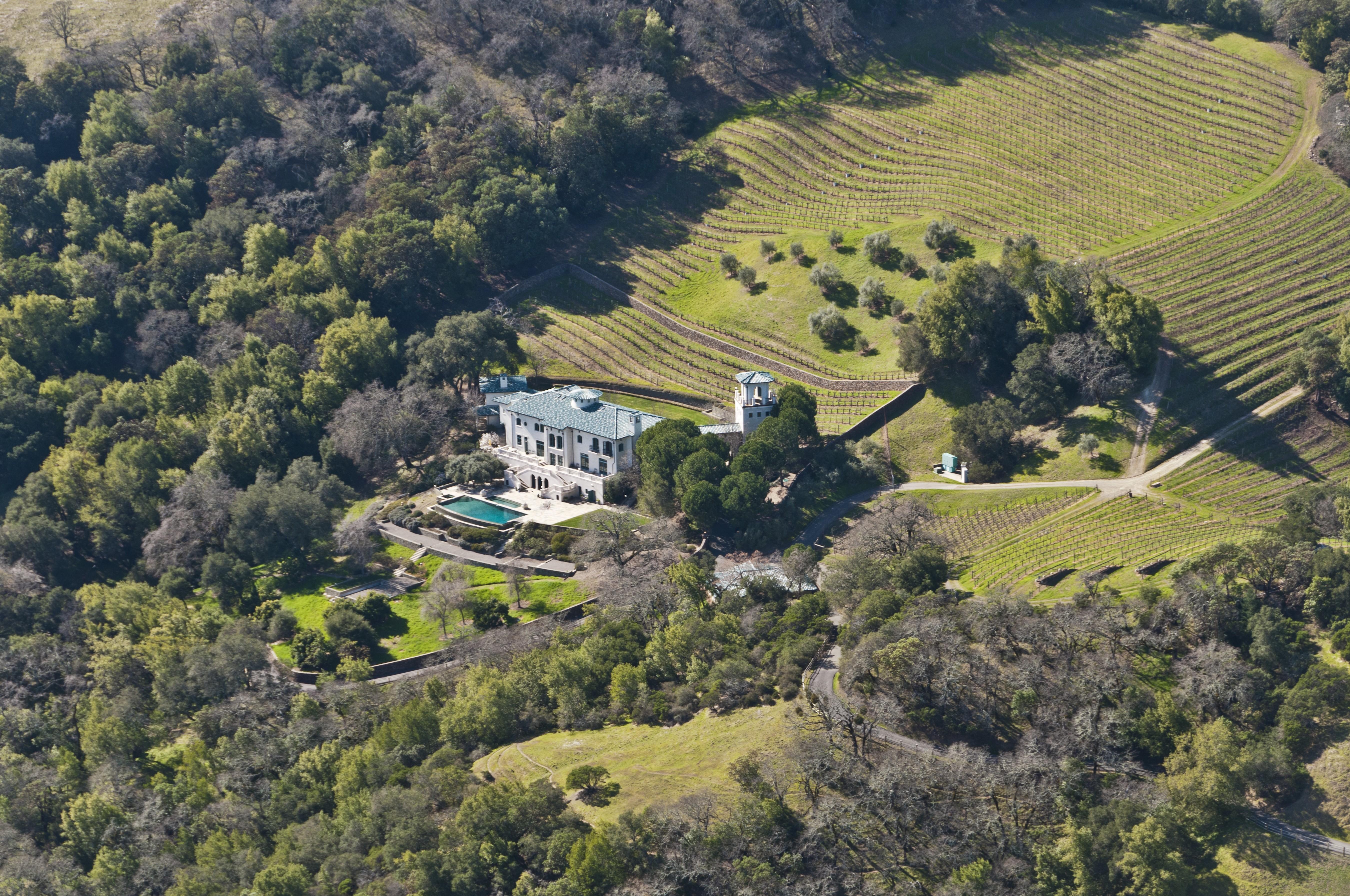 Robin Williams Napa Valley Estate